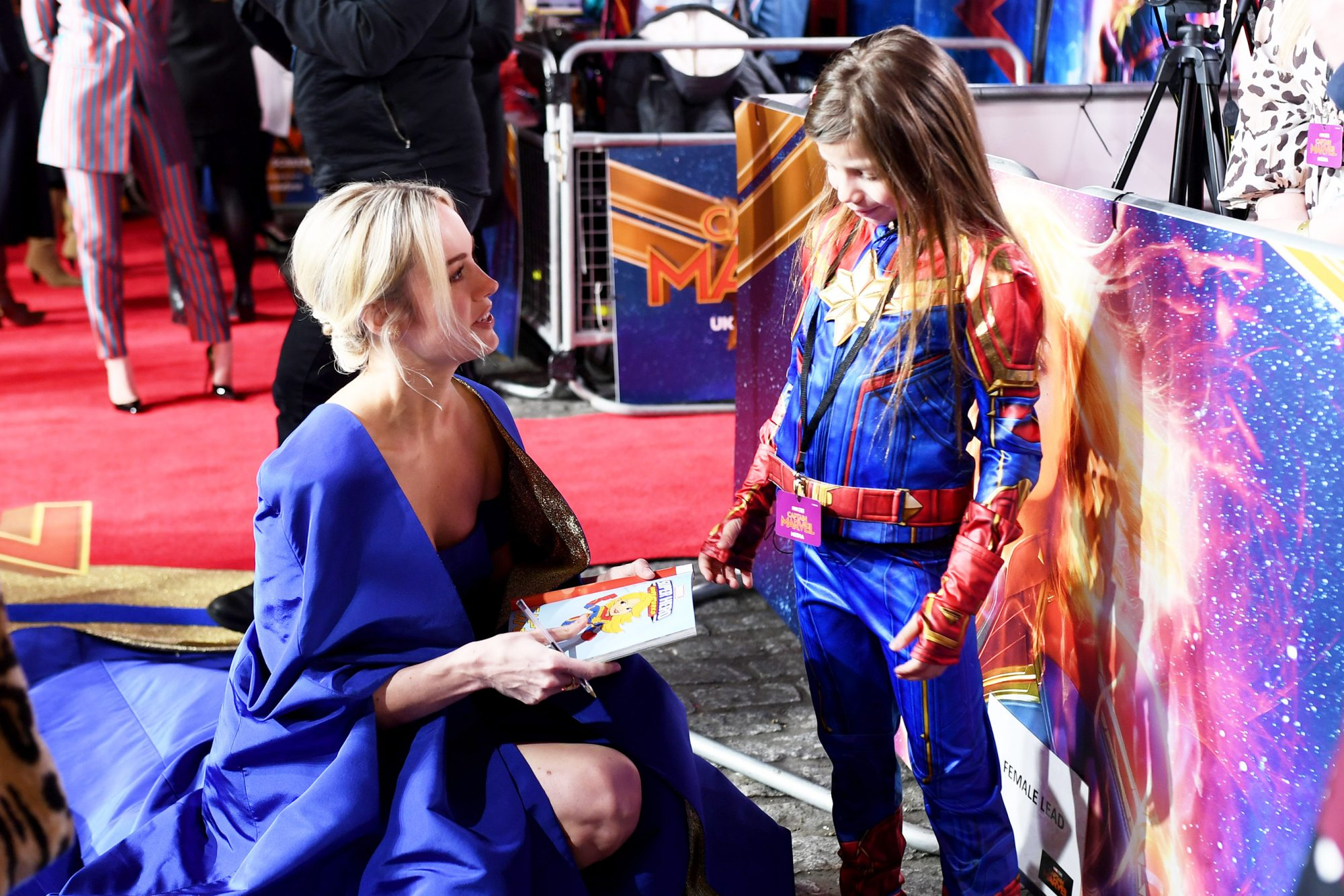"UK Gala Screening of Marvel Studios' ""Captain Marvel"""