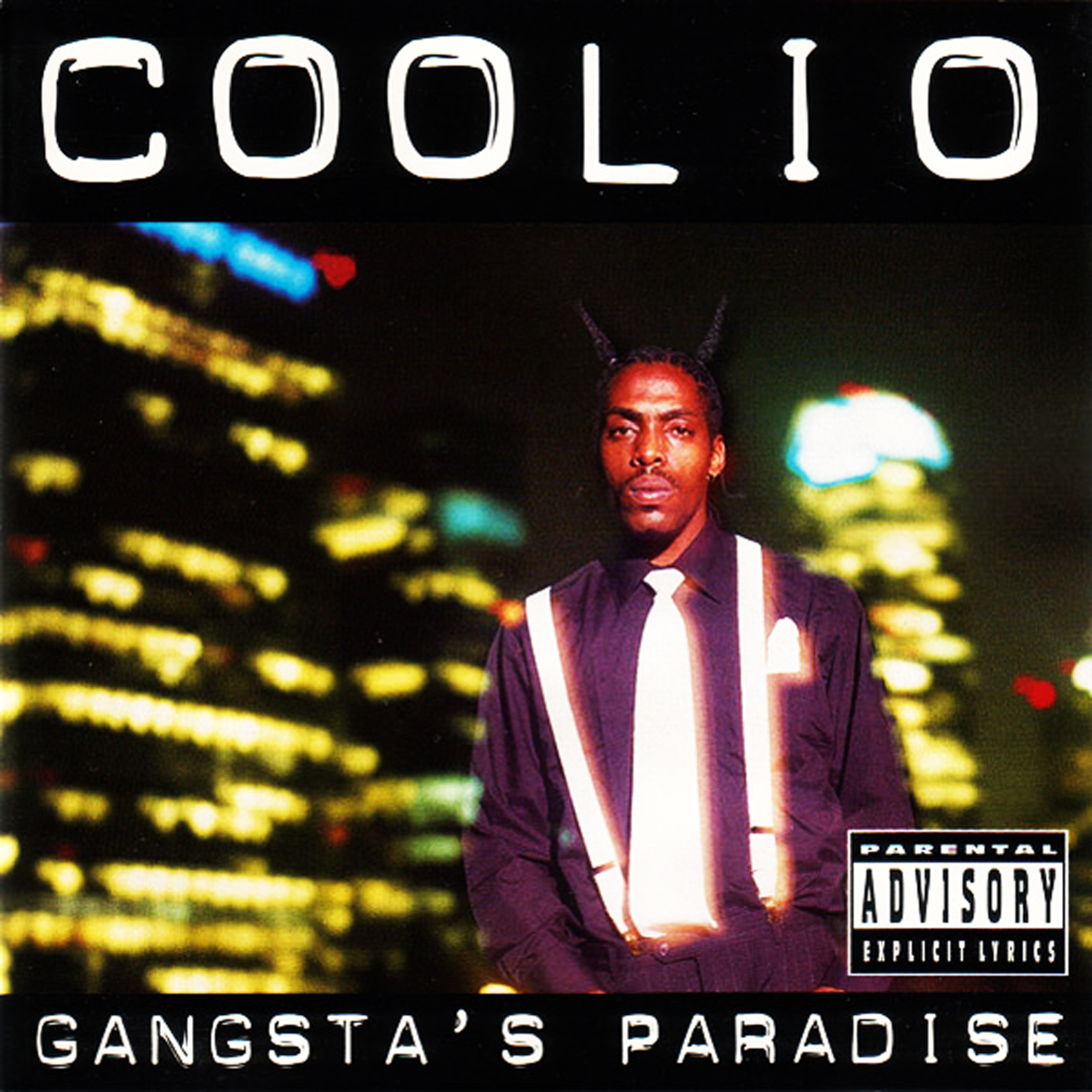 CoolioÕs GangstaÕs Paradise album cover