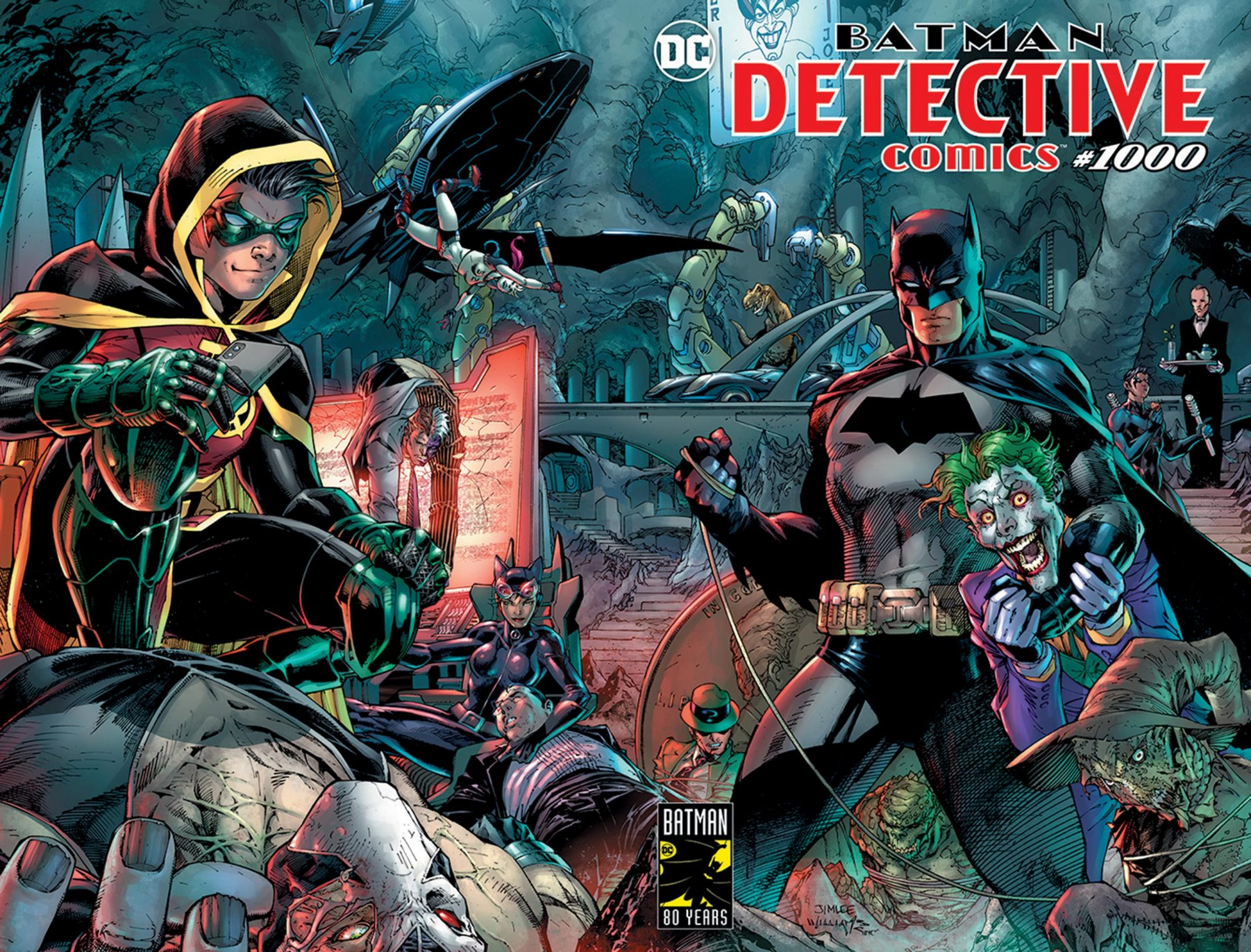 Detective Comics' #1000CR: DC Comics