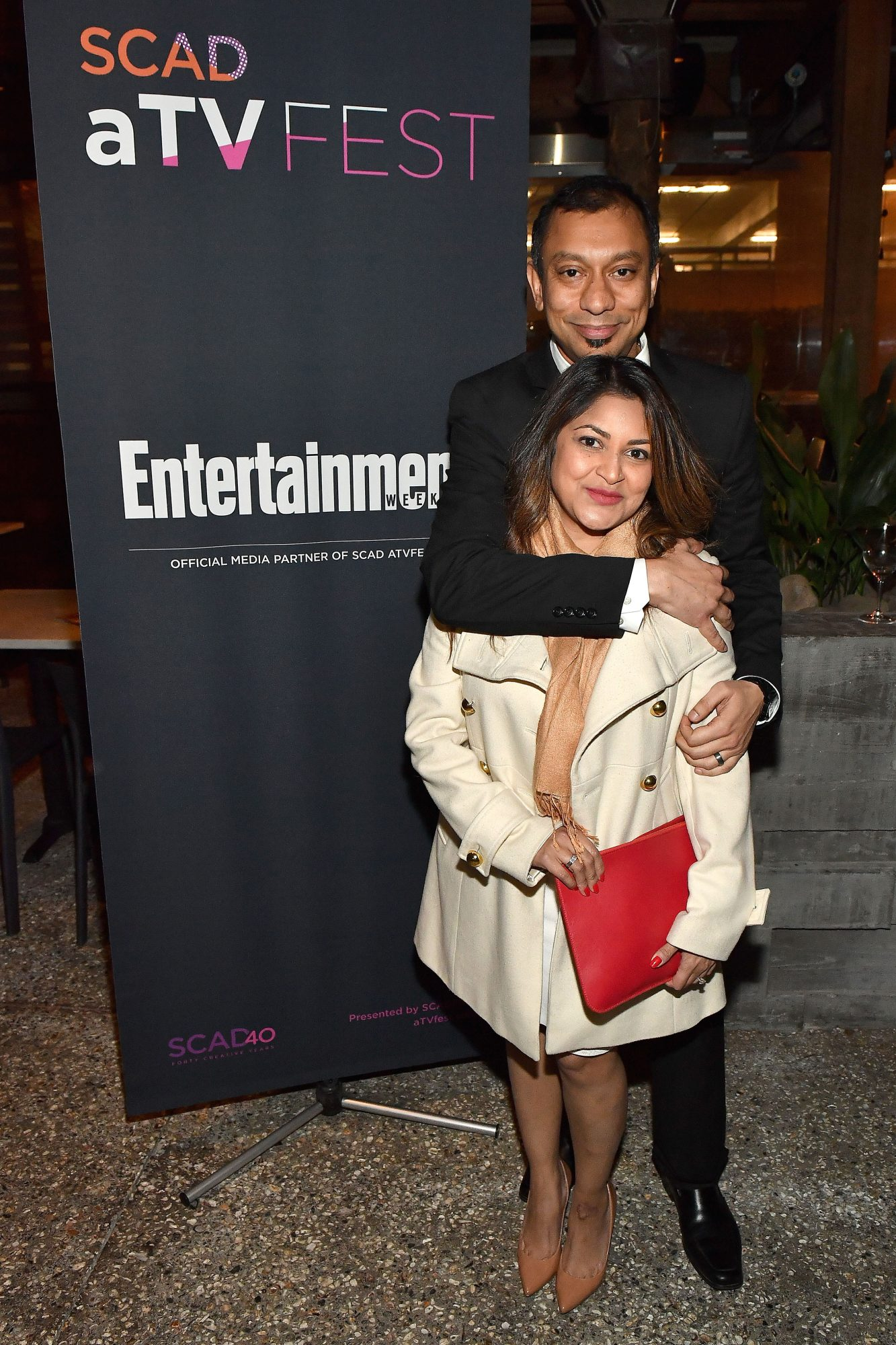 Visual effects specialist Mir Zafar Ali at the SCAD aTVfest and Entertainment Weekly party at Lure