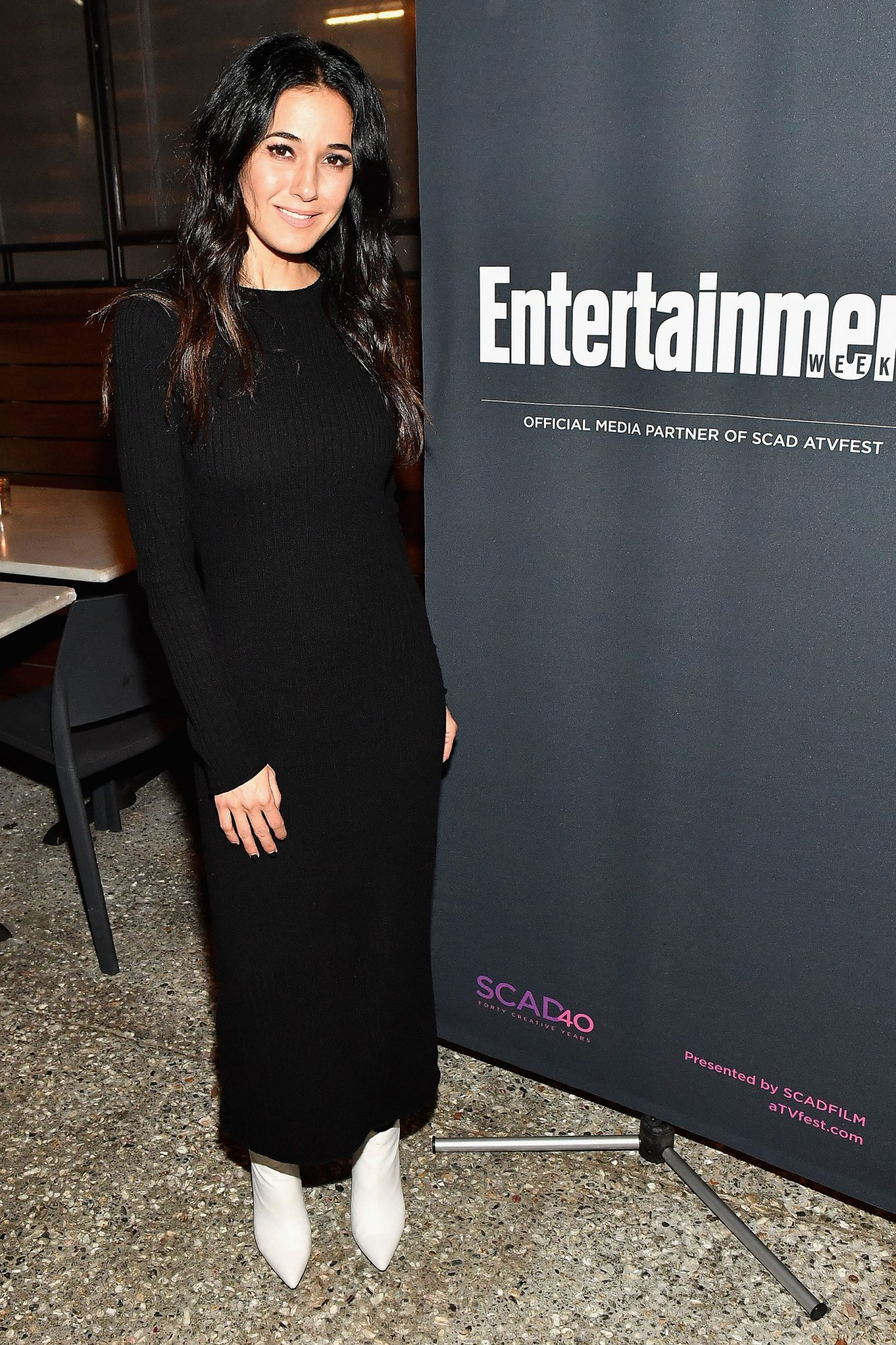 Emmanuelle Chriqui (The Passage) at the SCAD aTVfest and Entertainment Weekly party at Lure
