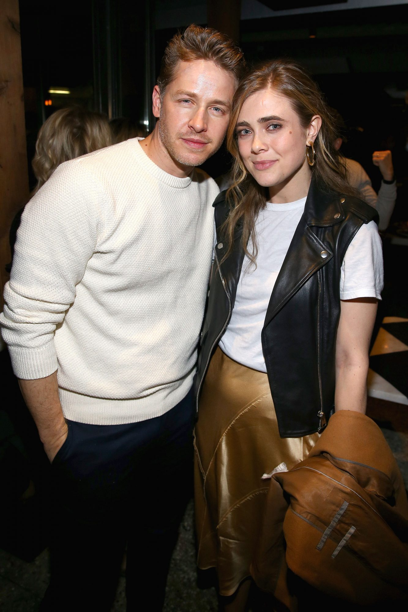 Manifest costars Josh Dallas and Melissa Roxburgh at the SCAD aTVfest and Entertainment Weekly party at Lure