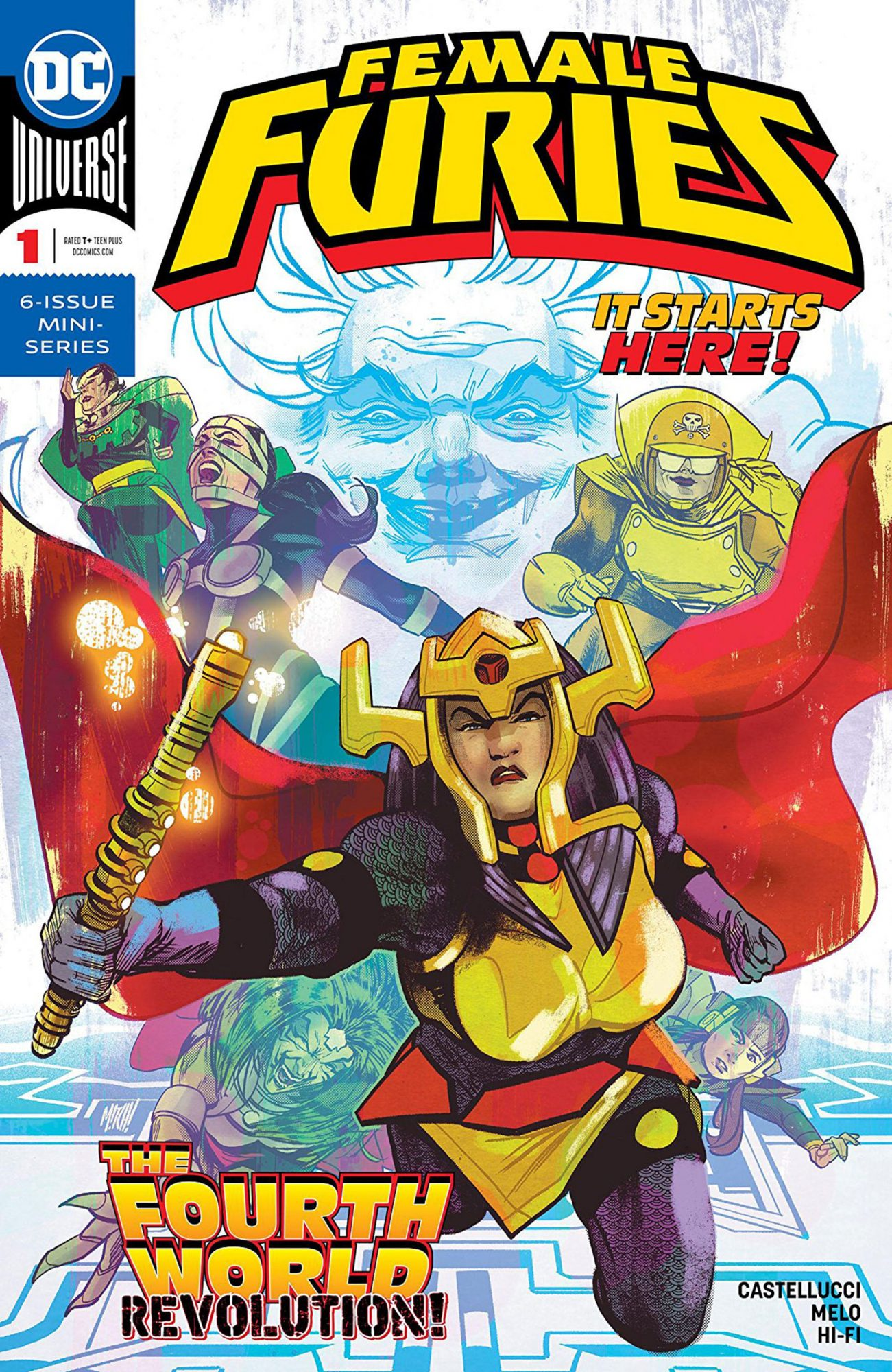 Female Furies (2019-) #1CR: DC Comics