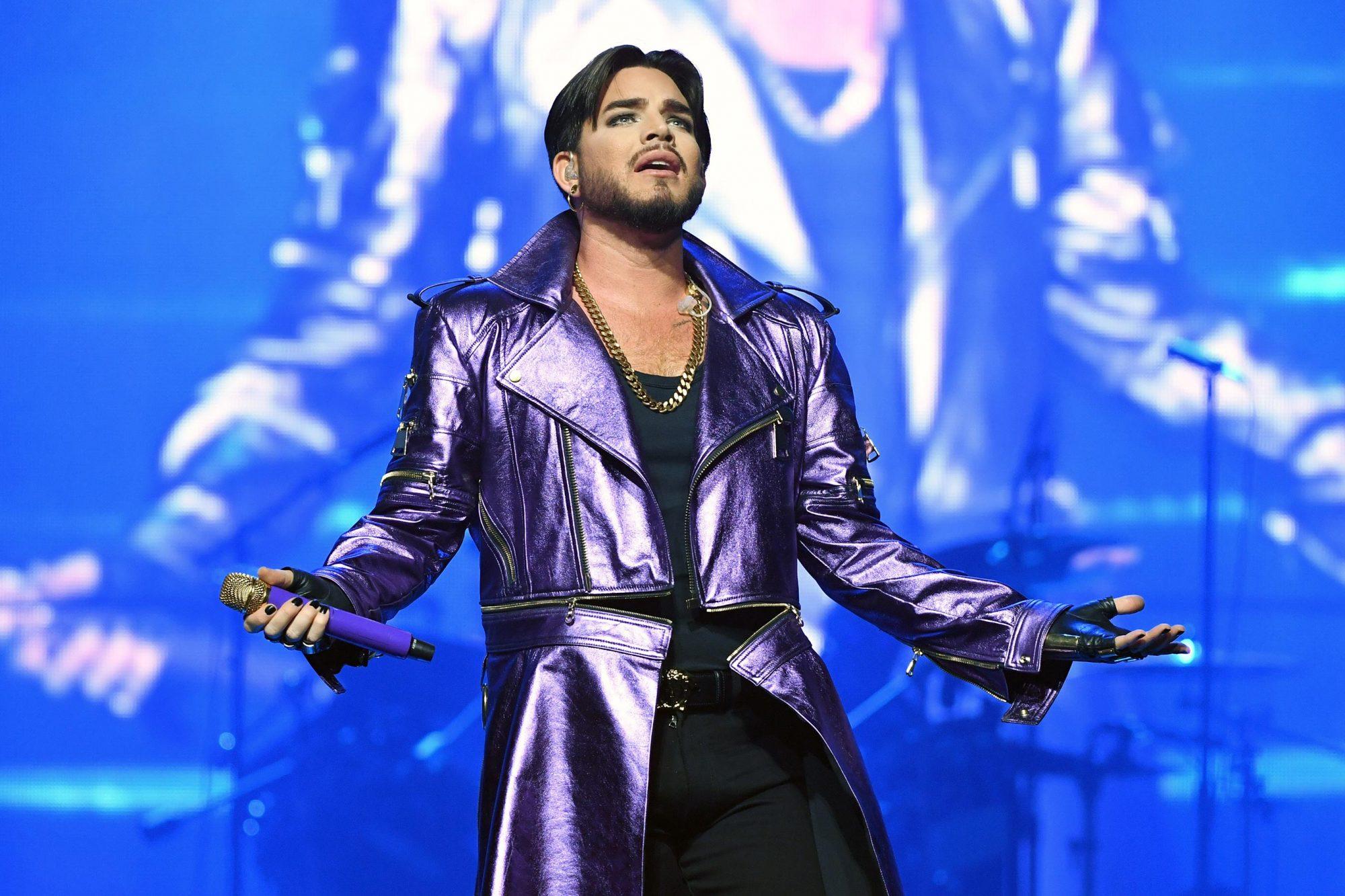 "Queen + Adam Lambert Kick Off ""The Crown Jewels"" At Park MGM"