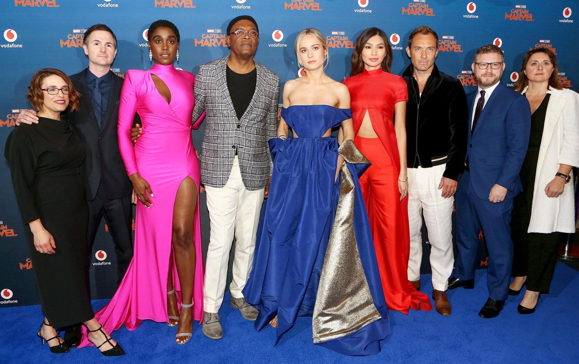 """Captain Marvel"" - European Gala - VIP Arrivals"