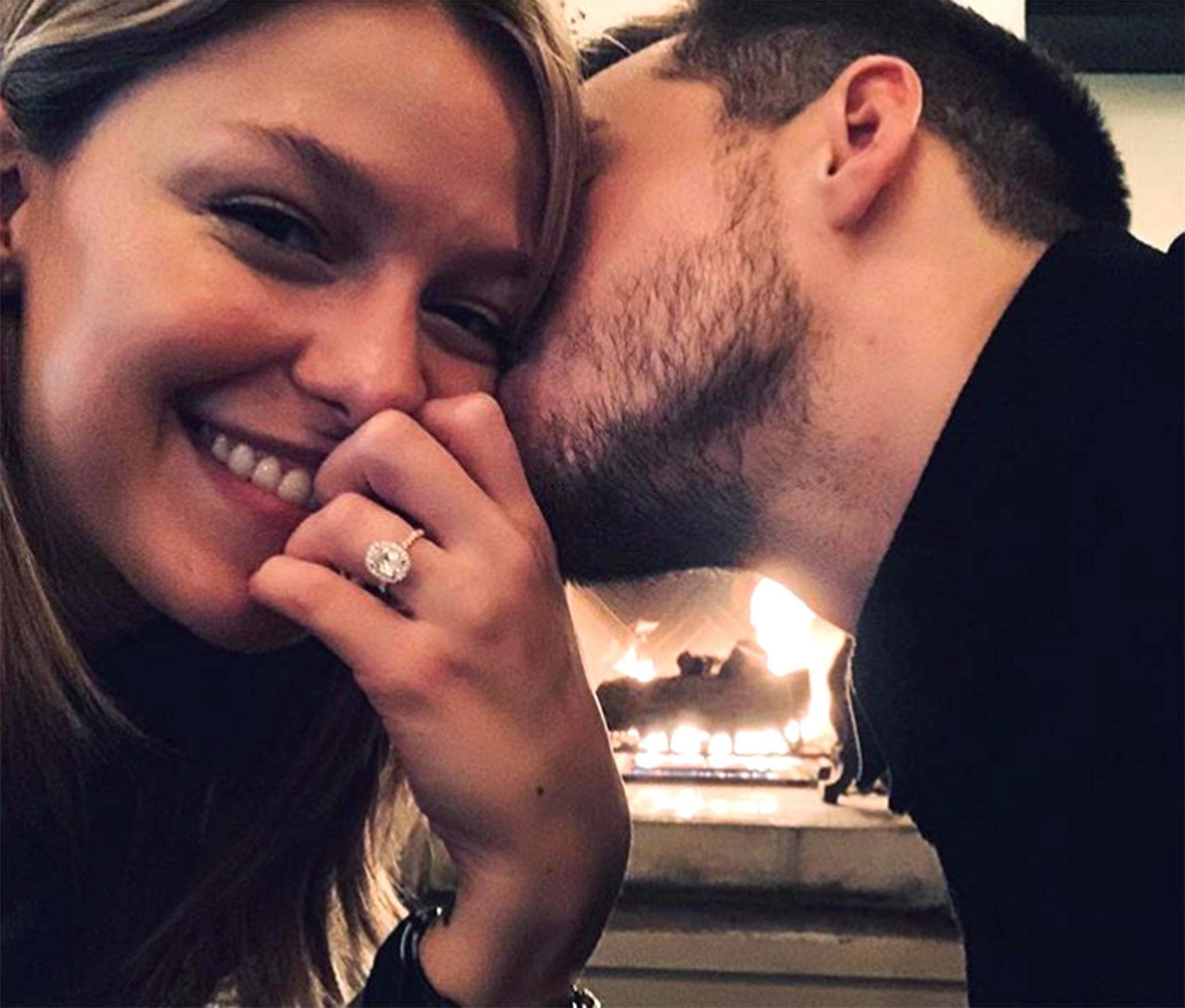 Melissa-Benoist-engaged