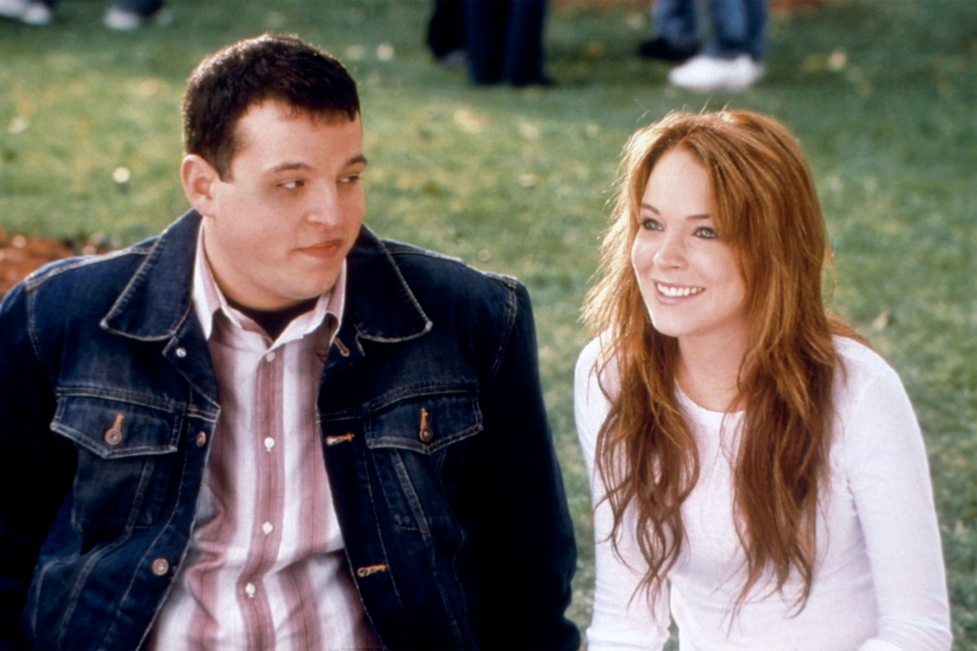 MEAN GIRLS, Daniel Franzese, Lindsay Lohan, 2004.©Paramount/courtesy Everett Collection