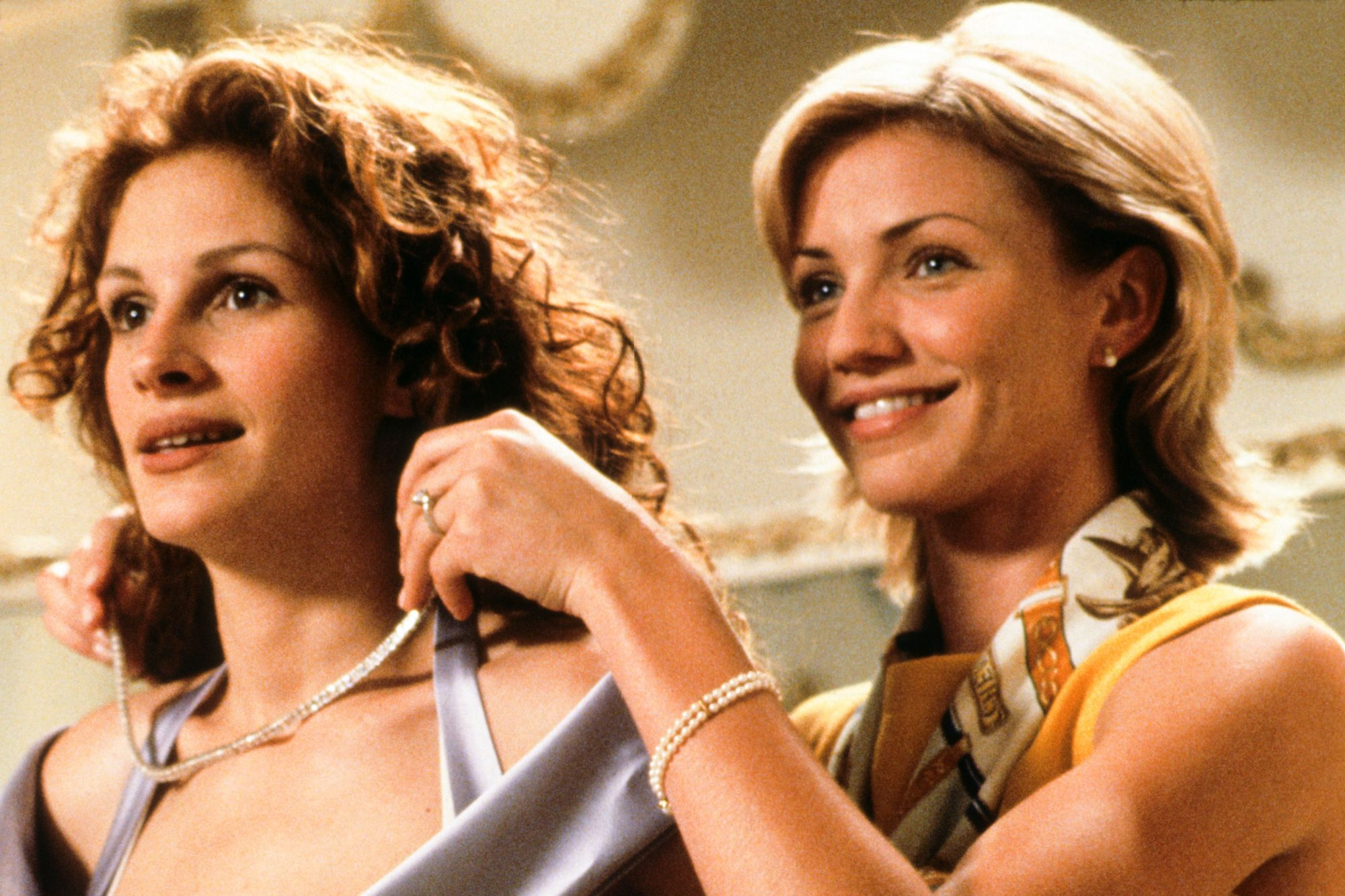 MY BEST FRIEND'S WEDDING, Julia Roberts, Cameron Diaz, 1997. © TriStar Pictures/ Courtesy: Everett C