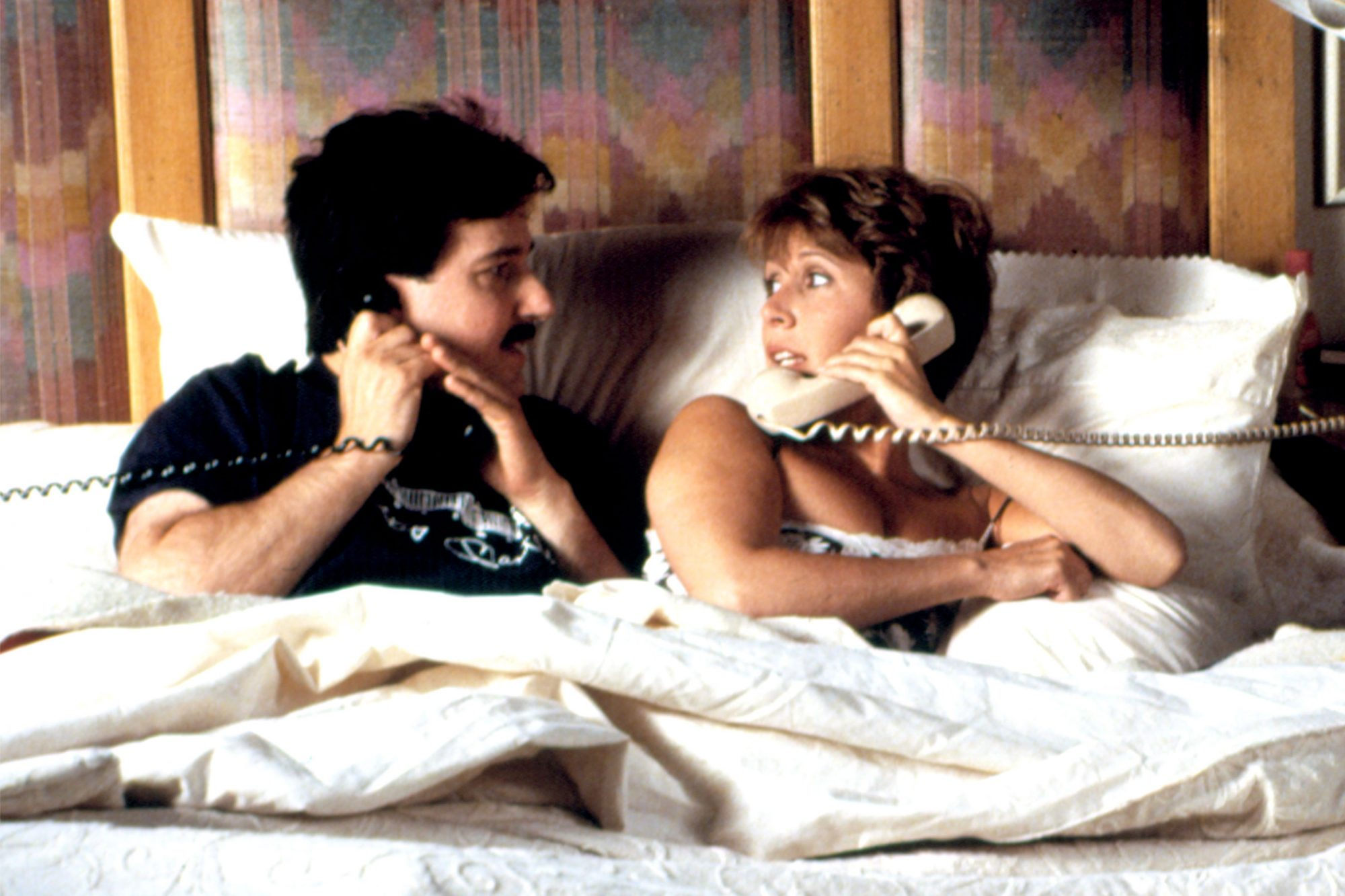 WHEN HARRY MET SALLY..., Bruno Kirby, Carrie Fisher, 1989. (c) Columbia Pictures/ Courtesy: Everett