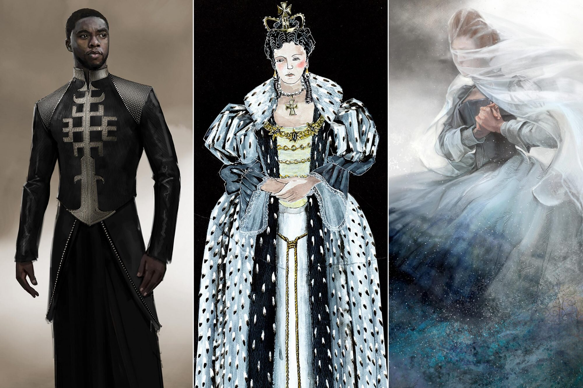 How 2019 Oscar Nominated Costume Designers Brought Sketches To Life Ew Com