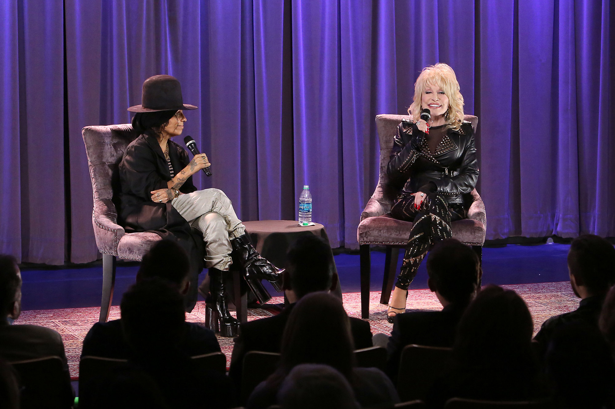 GRAMMY Museum Town Hall Program With Dolly Parton Moderated By Linda Perry