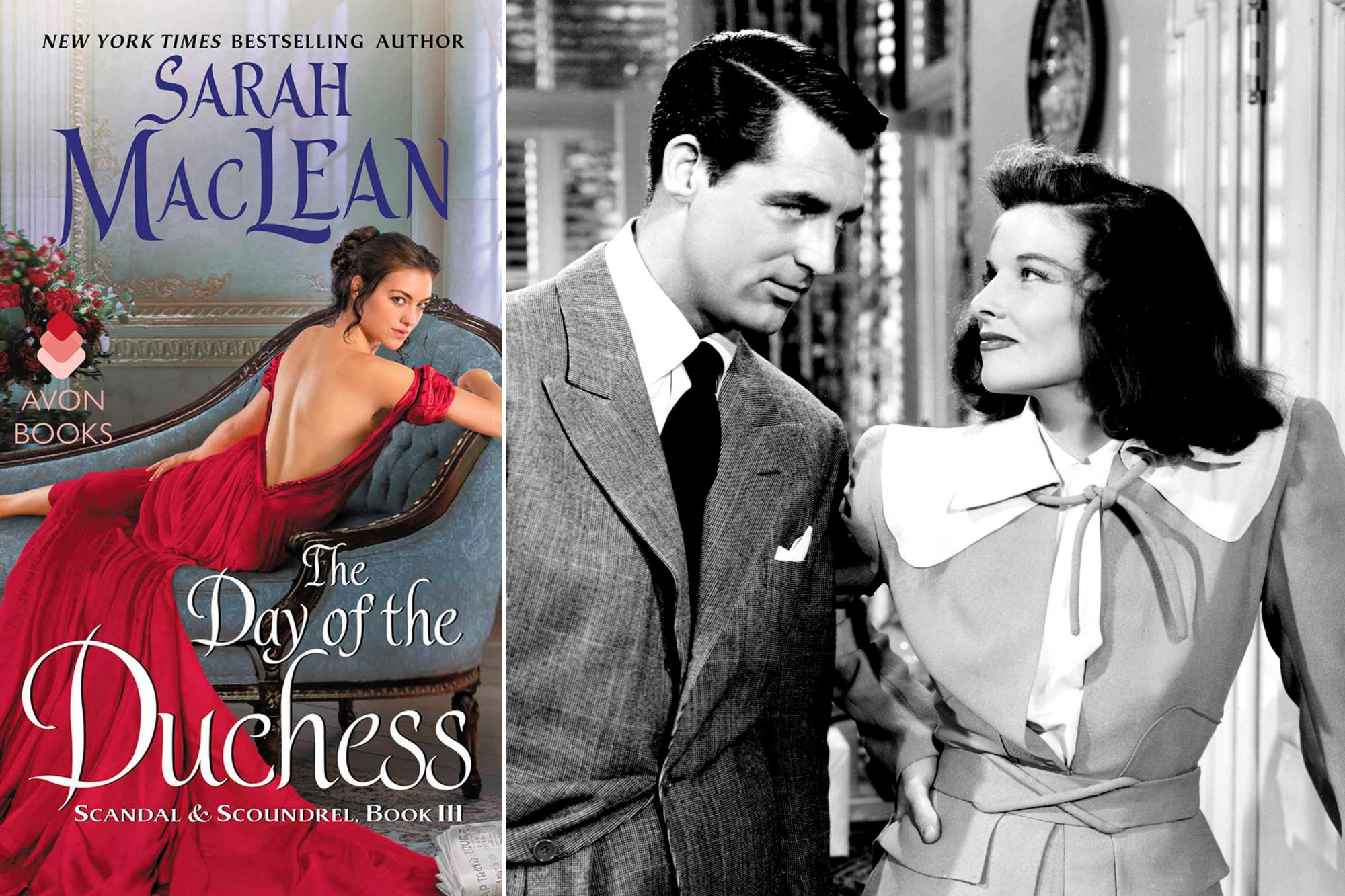 Read The Day of the Duchess by Sarah MacLean; Watch The Philadelphia Story (1940)