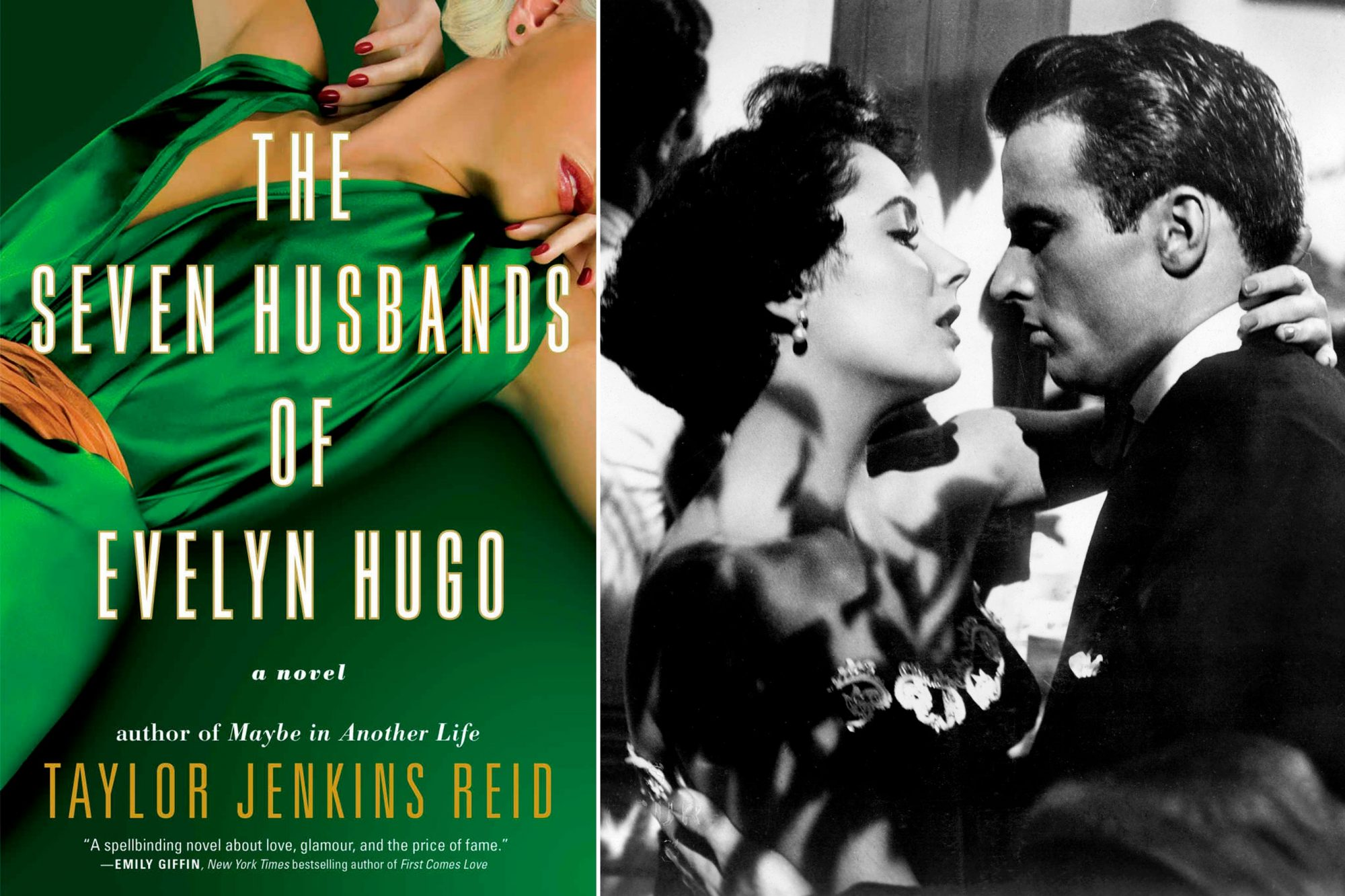 Read The Seven Husbands of Evelyn Hugo by Taylor Jenkins Reid; Watch A Place in the Sun (1951)