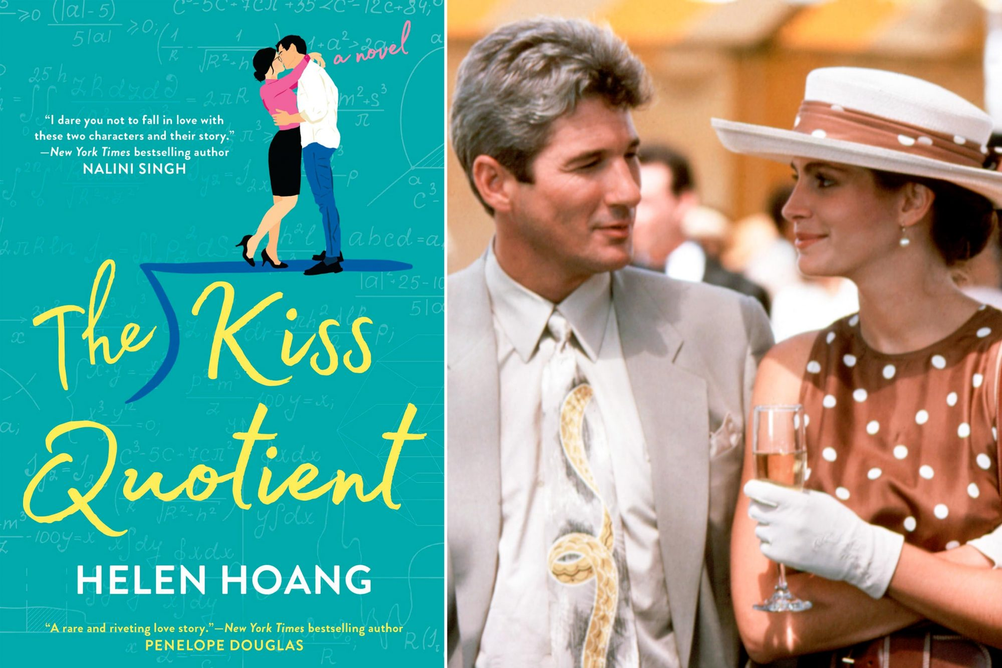 Read The Kiss Quotient by Helen Hoang; Watch Pretty Woman (1990)