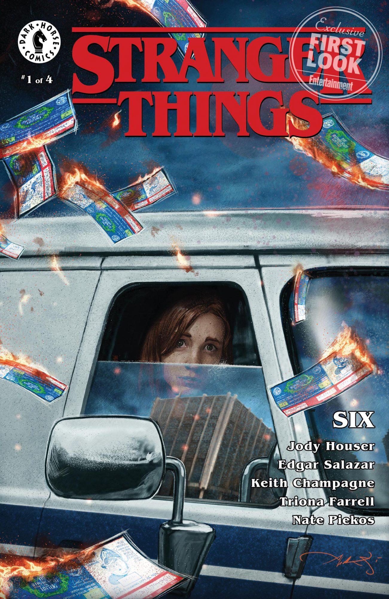 'Stranger Things' prequel comicCredit: Dark Horse