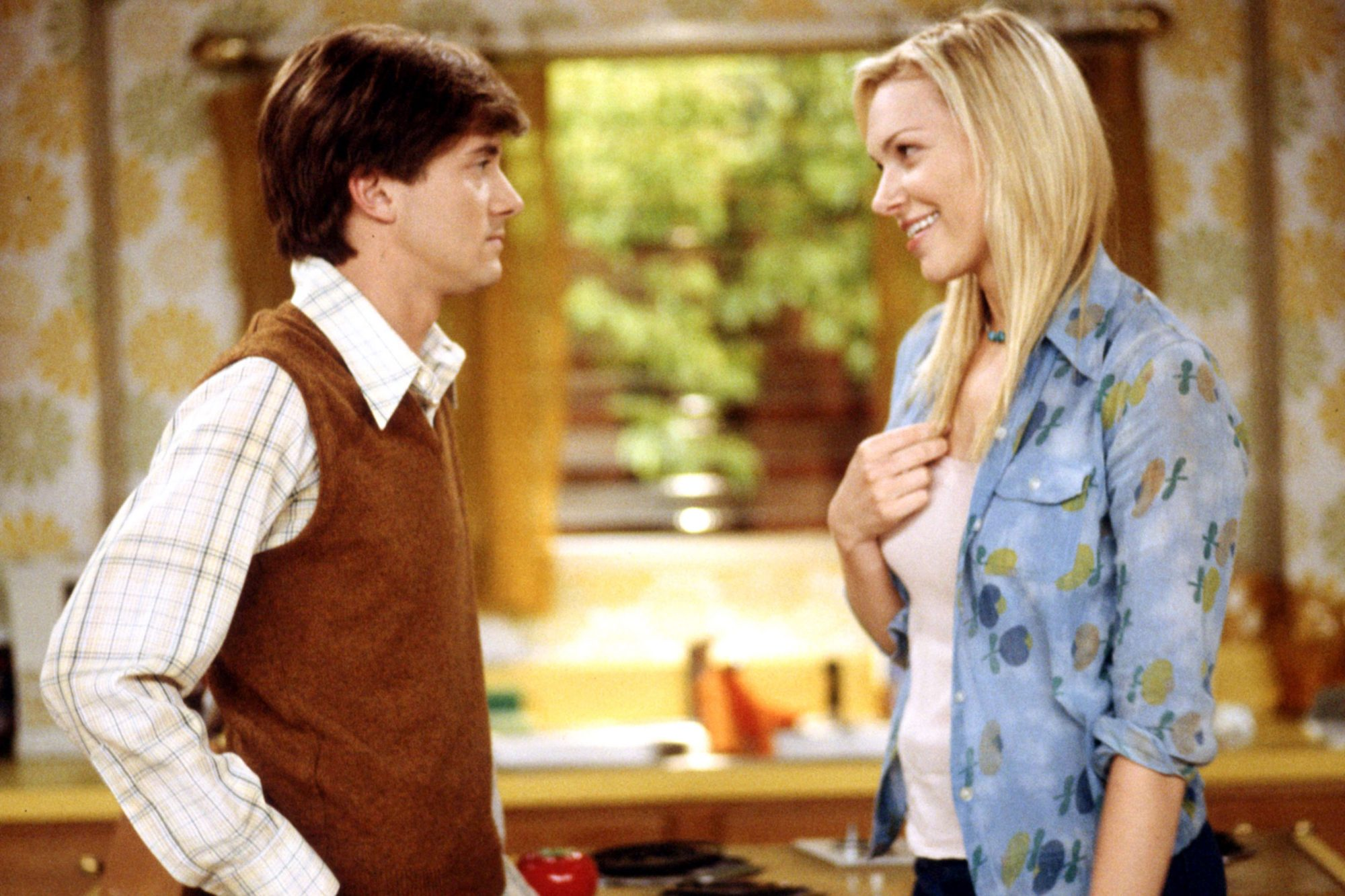THAT '70S SHOW, Topher Grace, Laura Prepon, 'Time Is On My Side', (Season 7), 1998-2006, TM and Copy