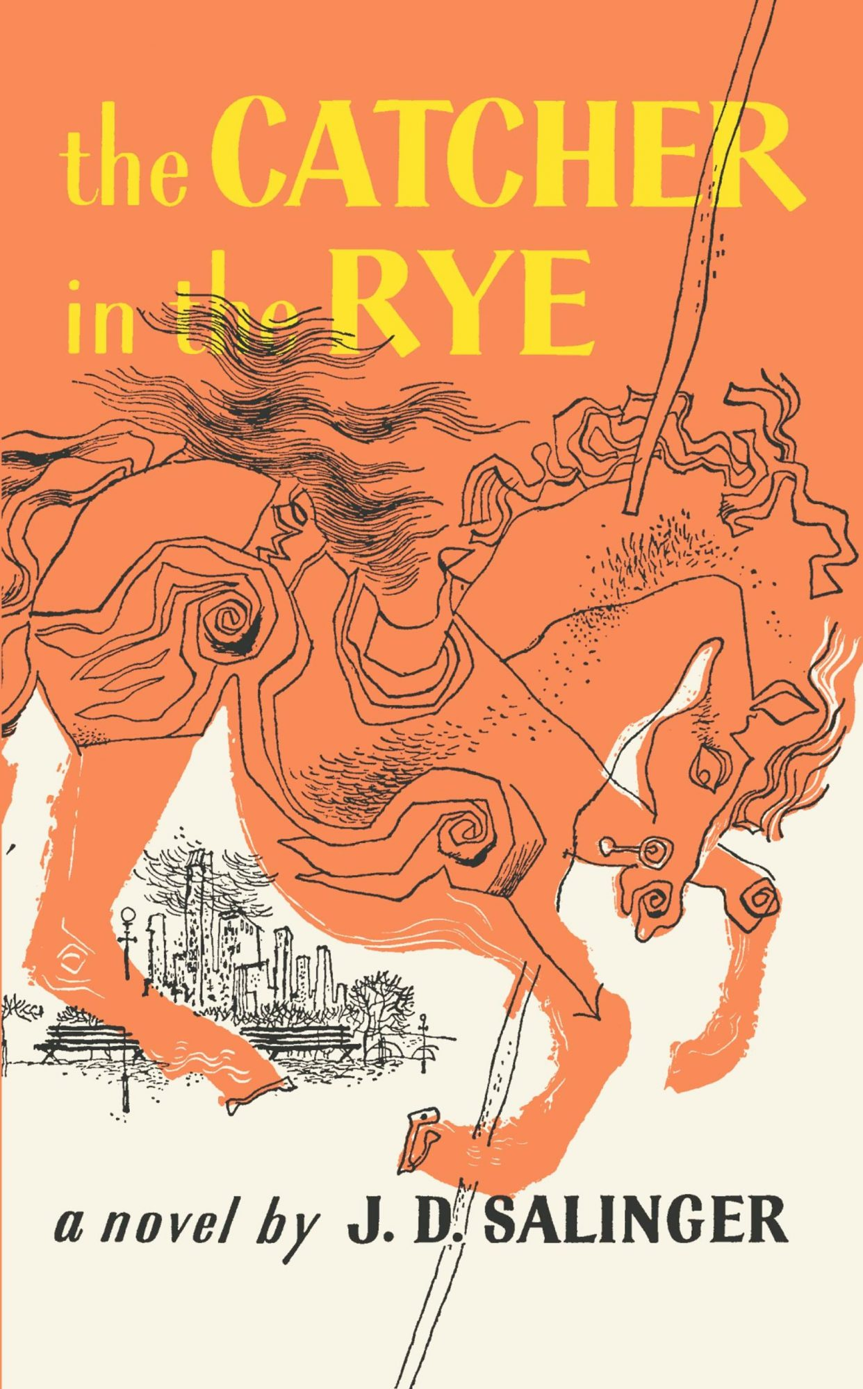 THE CATCHER IN THE RYE by J.D. Salinger CR: Little, Brown Books