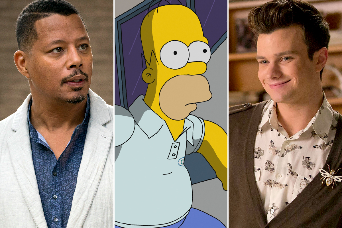 Empire / The Simpsons / Glee