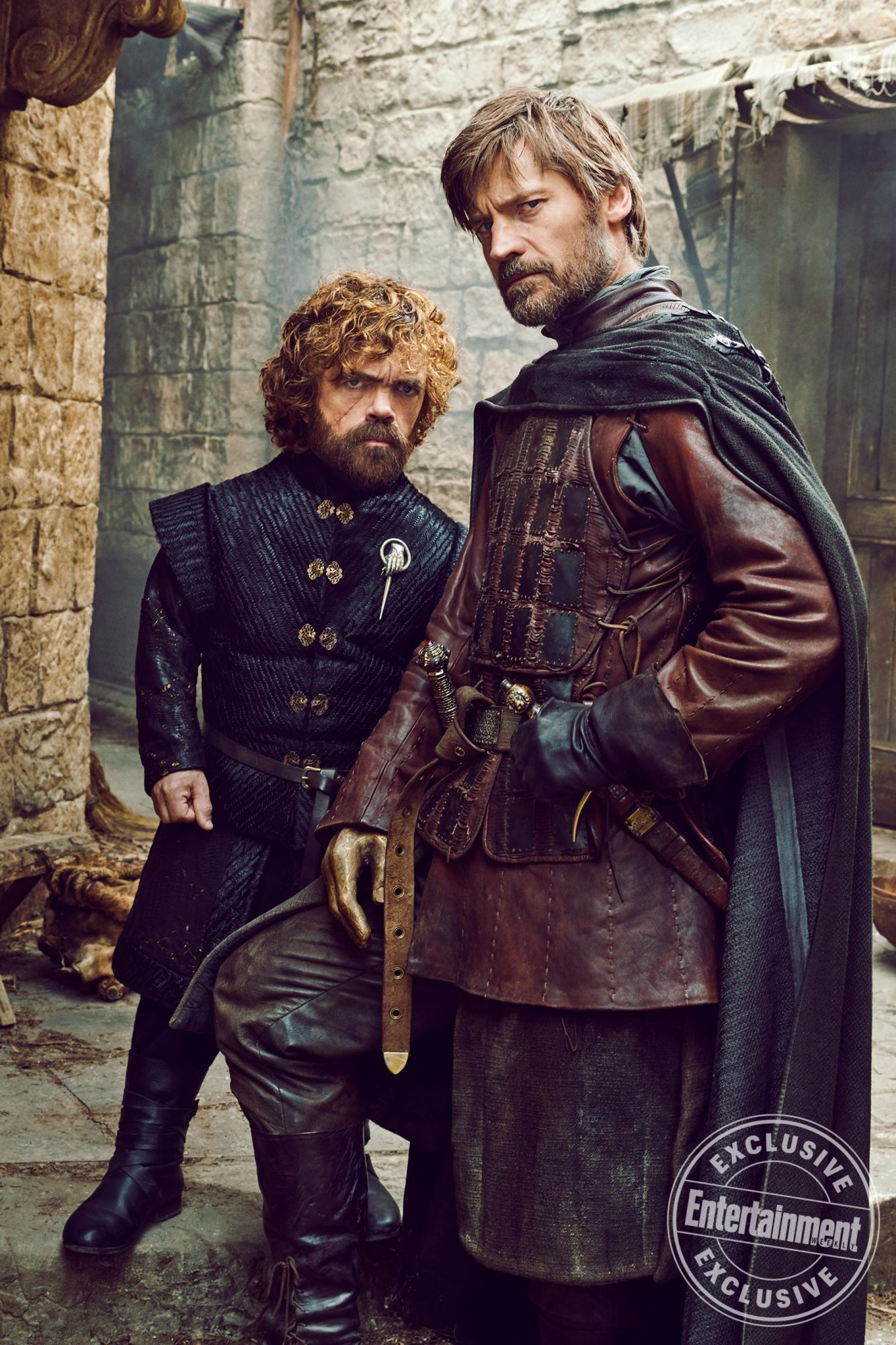 Tyrion and Jaime Lannister