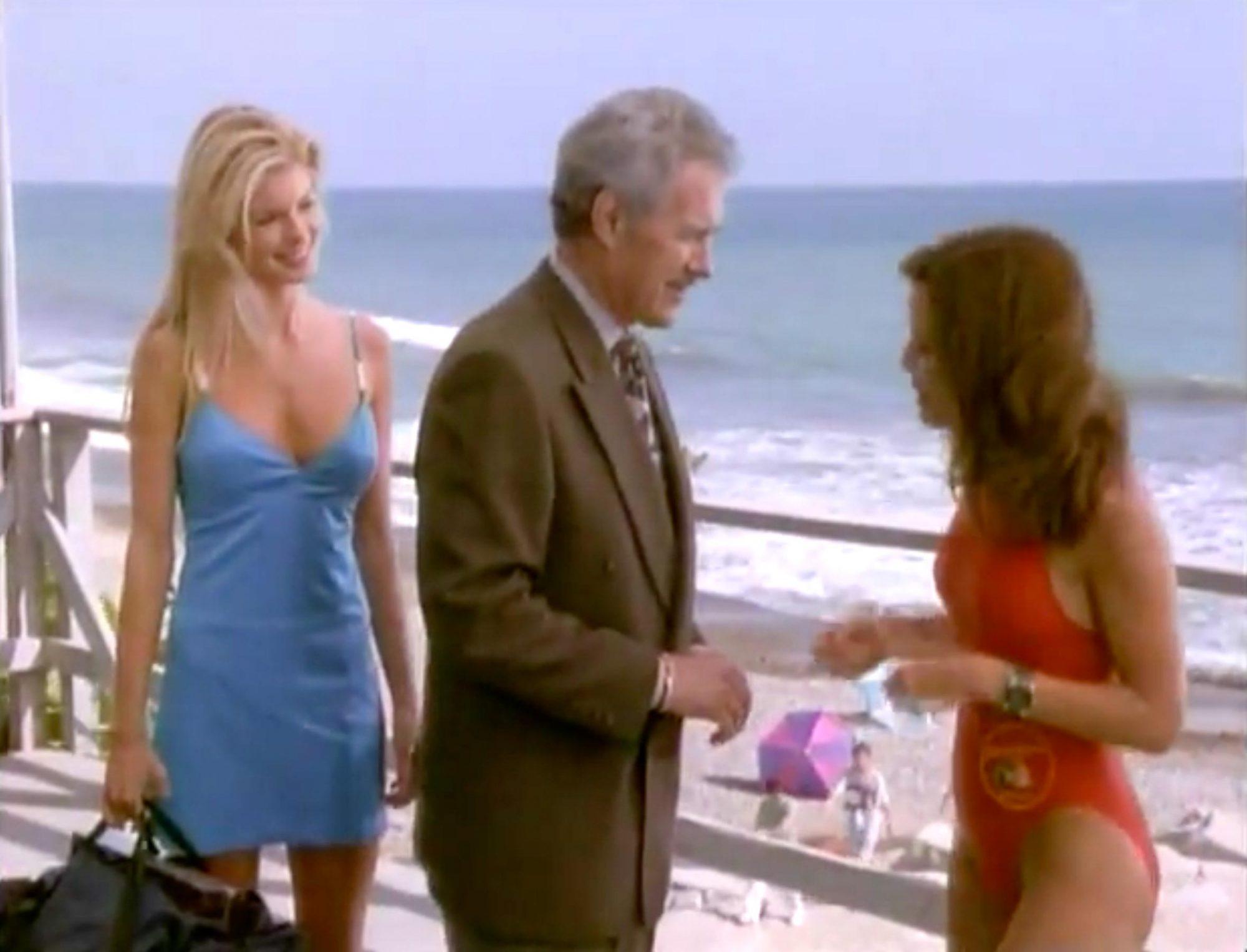 Bay Watch (screen grab)Season 9, Episode 8Alex TrebekCR: NBC