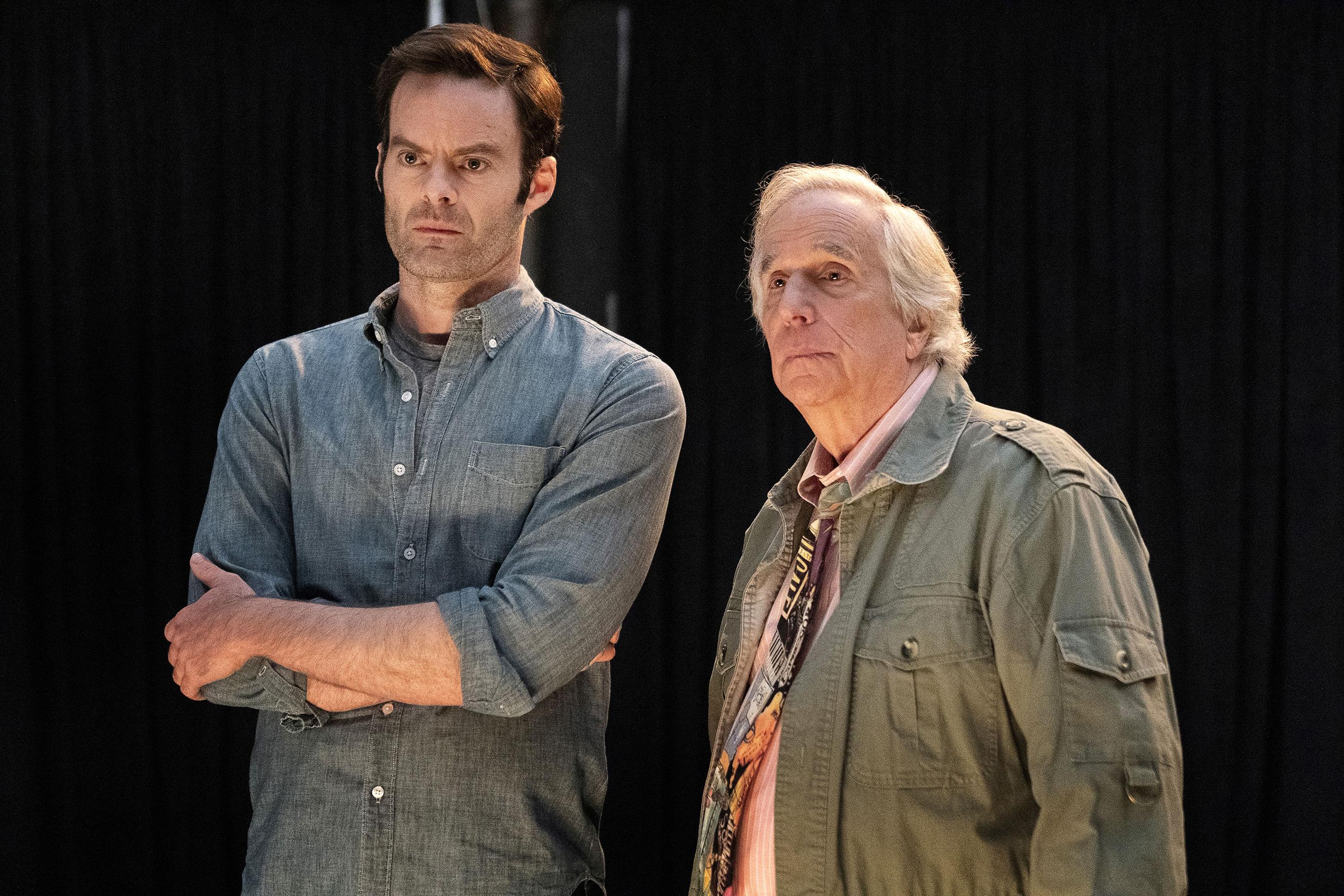 Barry Season 2Pictured: Bill Hader, Henry WinklerCR:  Isabella Vosmikova/HBO