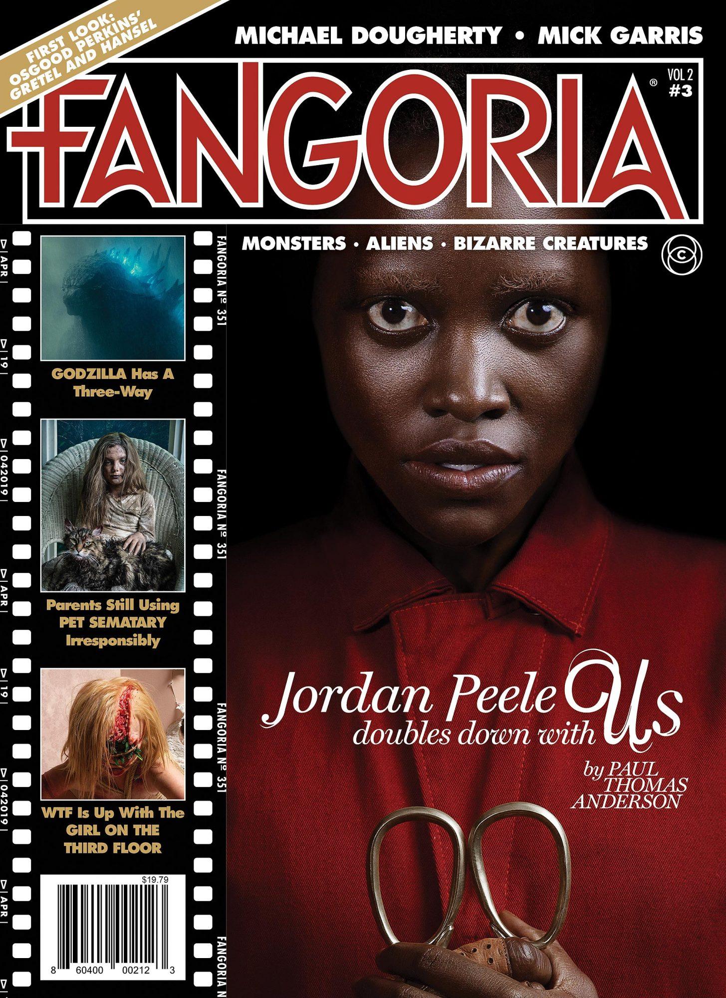 Fangoria cover Jordan Peele's UsCredit: Fangoria