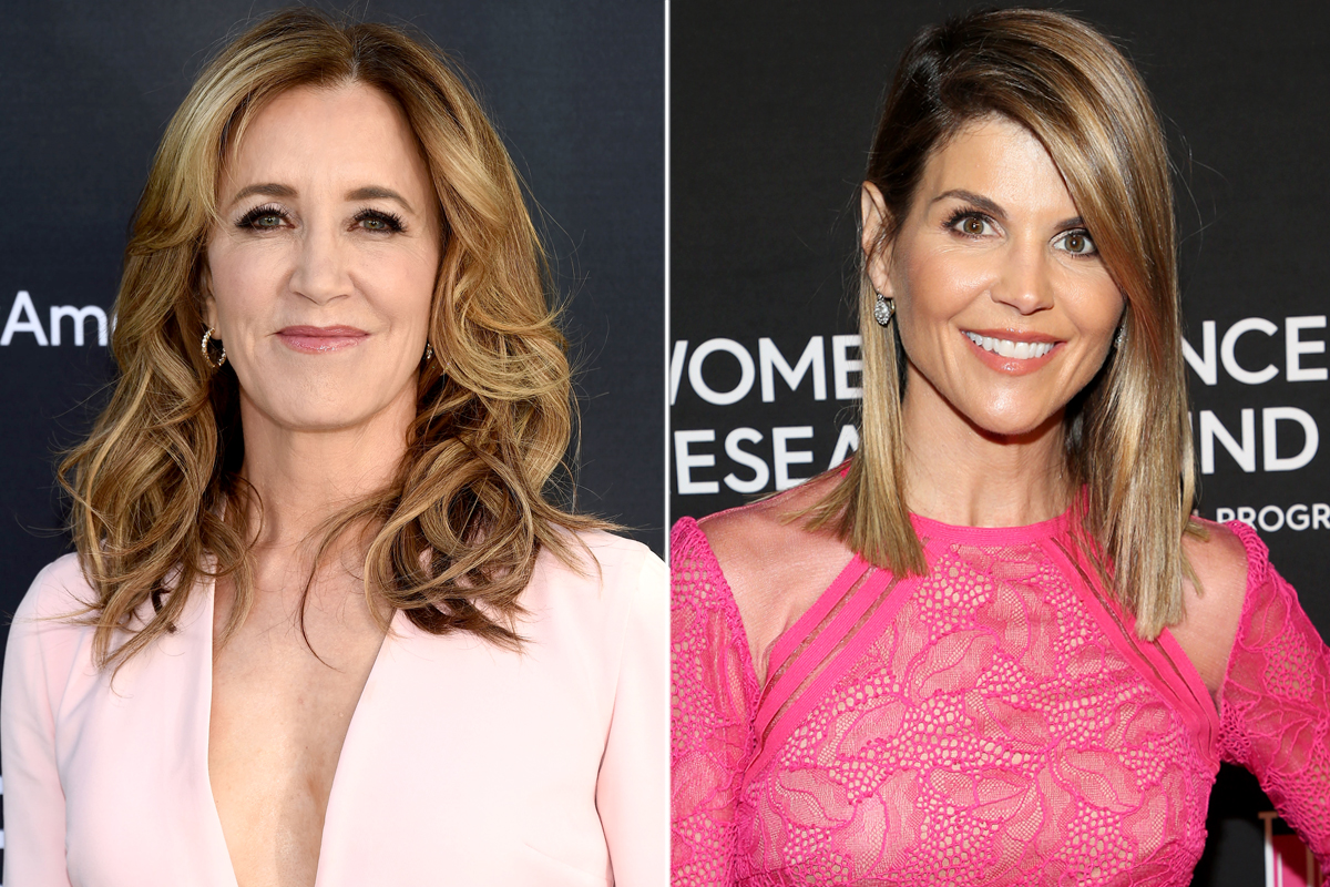 Felicity Huffman and Lori Loughlin split