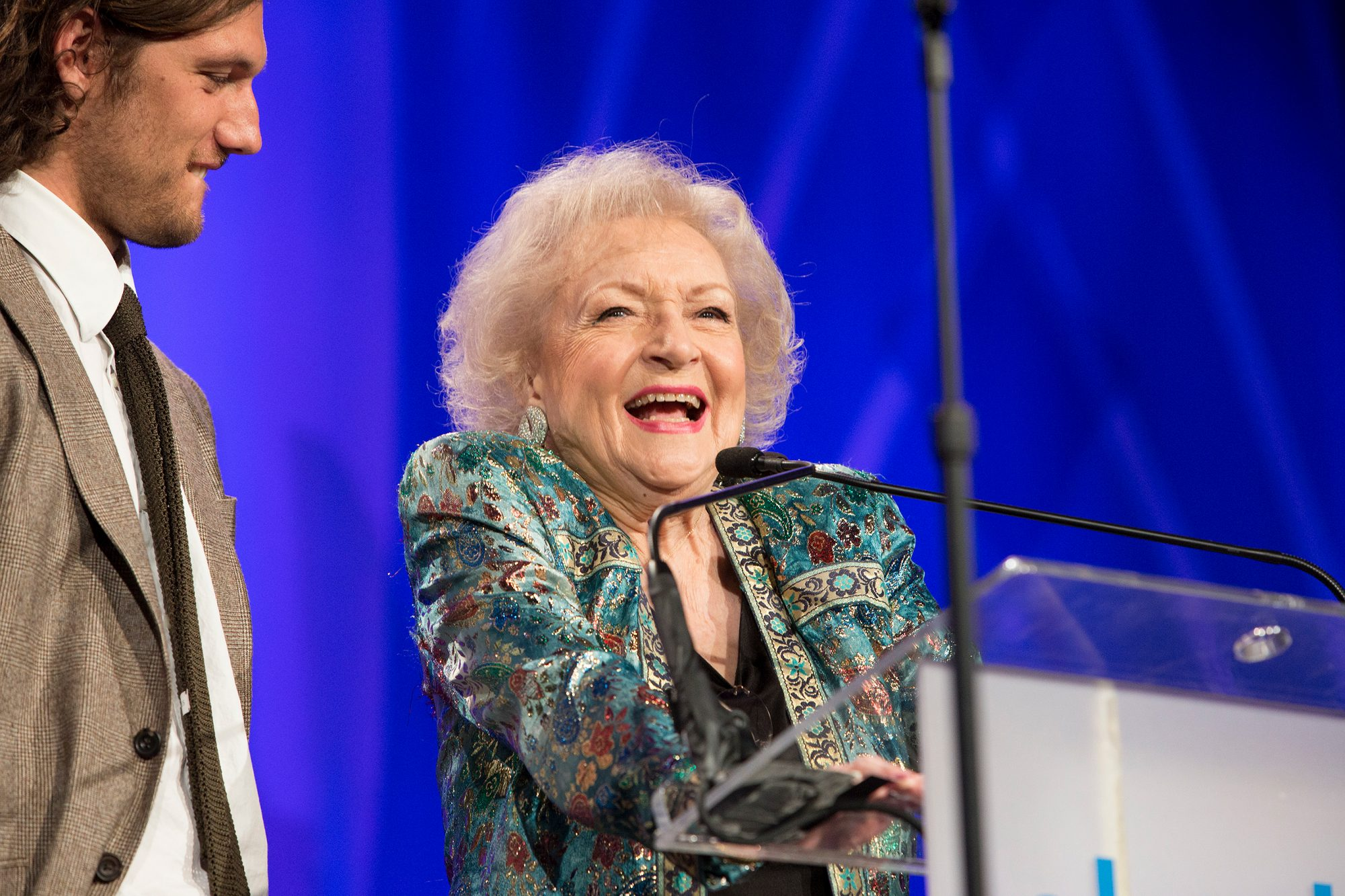 2013: Betty White comes out for marriage equality
