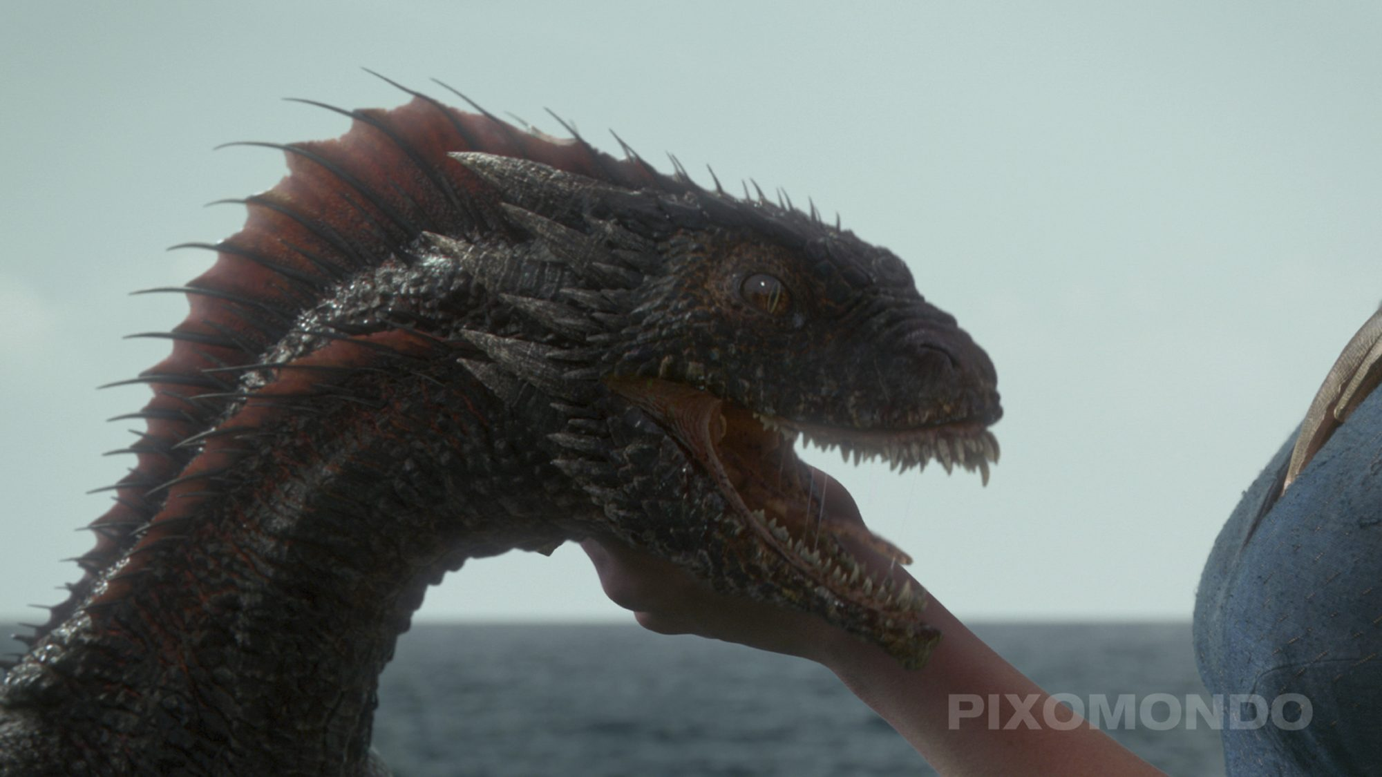 Game of Thrones BTSSeason 3DragonsCR: HBO