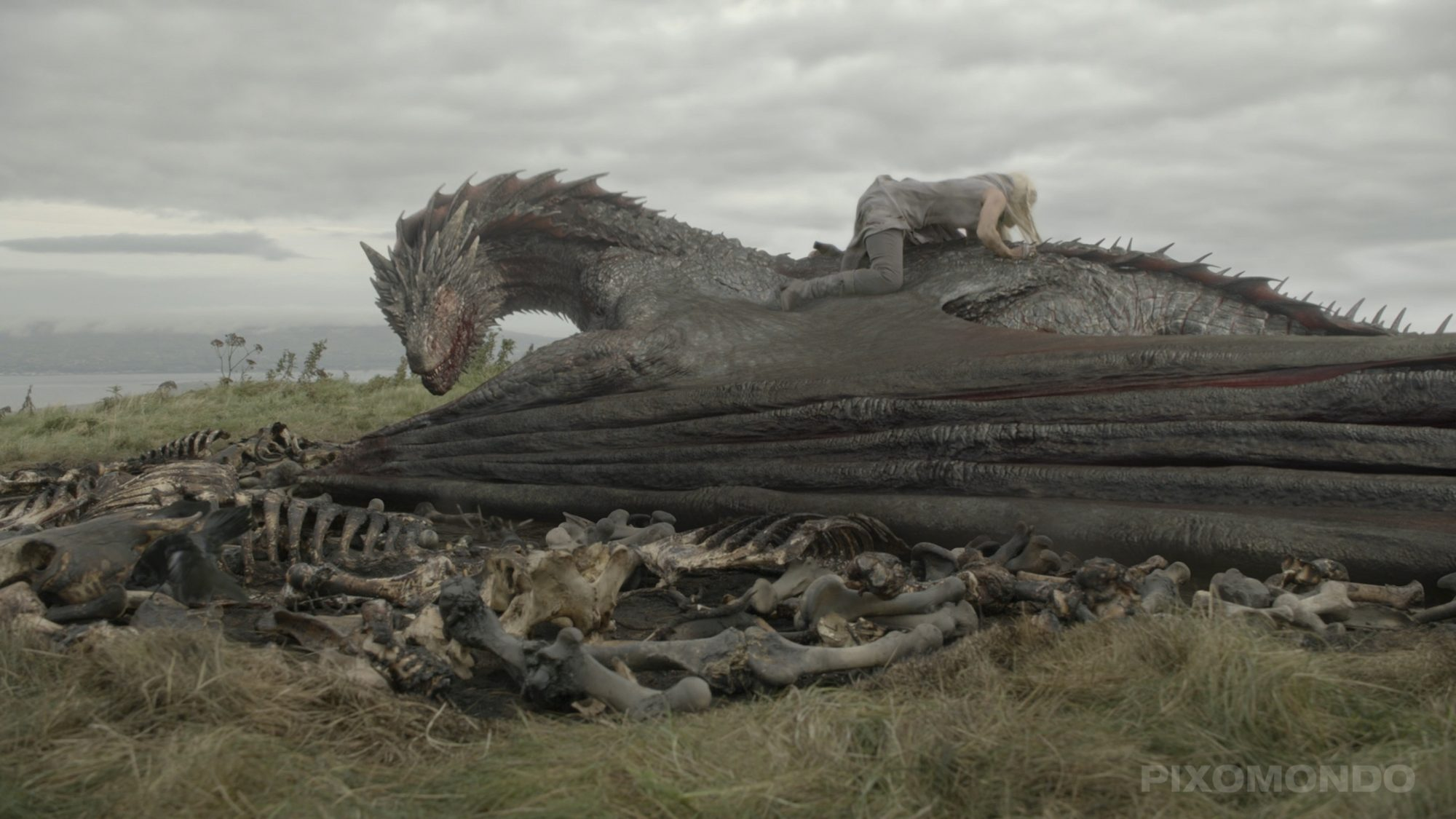 Game of Thrones BTSSeason 5DragonsCR: HBO