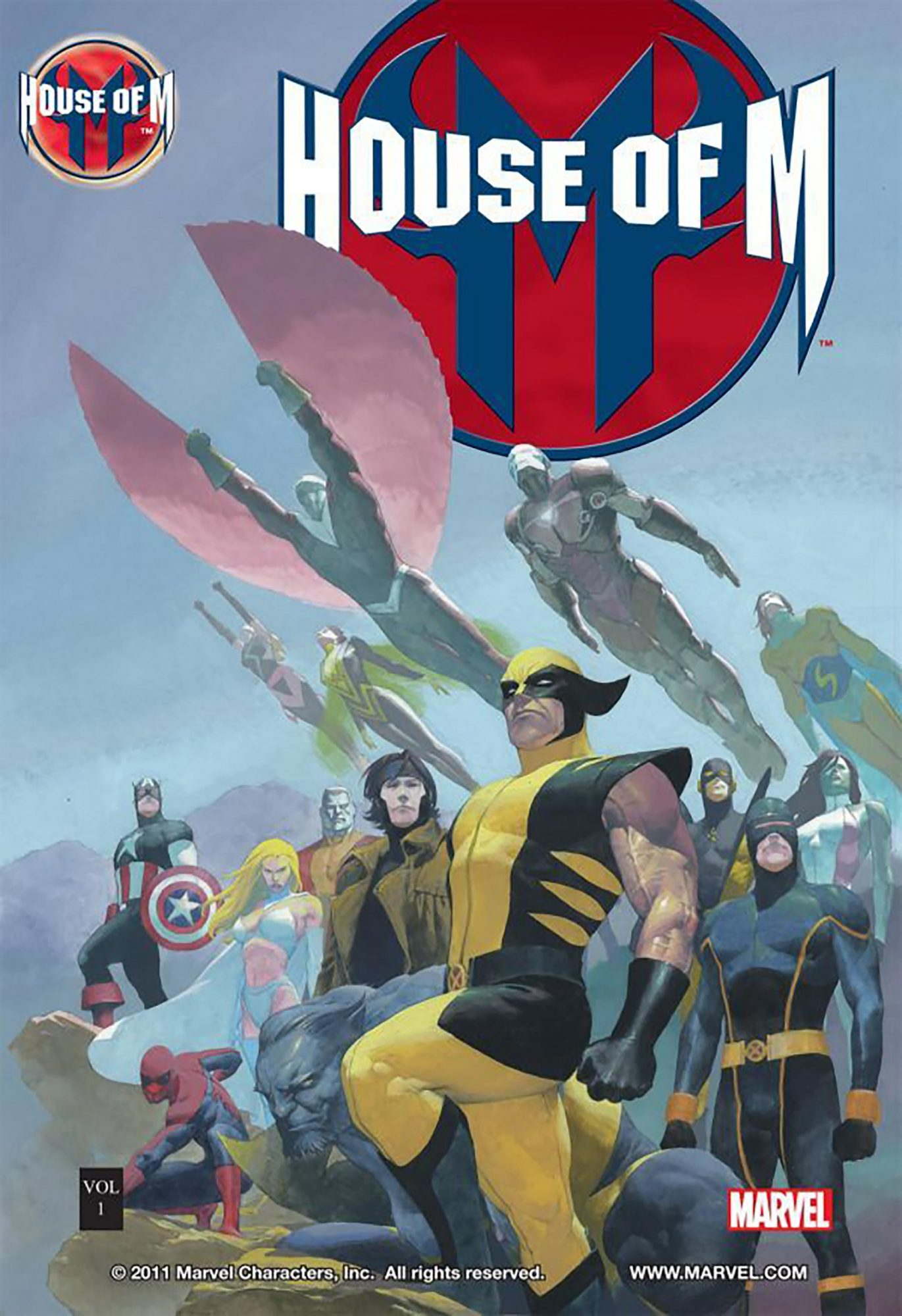 House of M CR: Marvel Comics