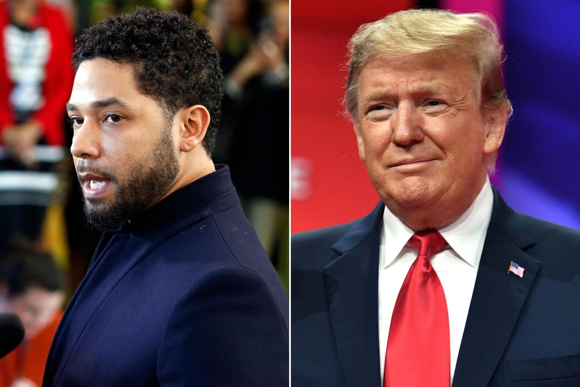 Jussie-Smollett-Donald-Trump