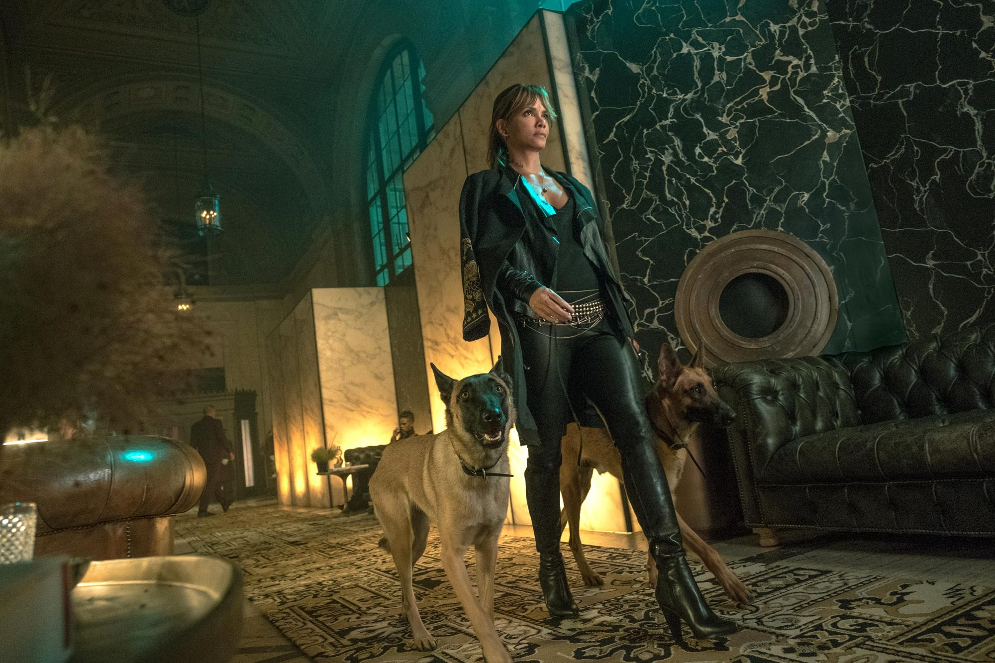 Halle Berry stars as 'Sofia' in JOHN WICK 3. Photo credit: Niko Tavernise