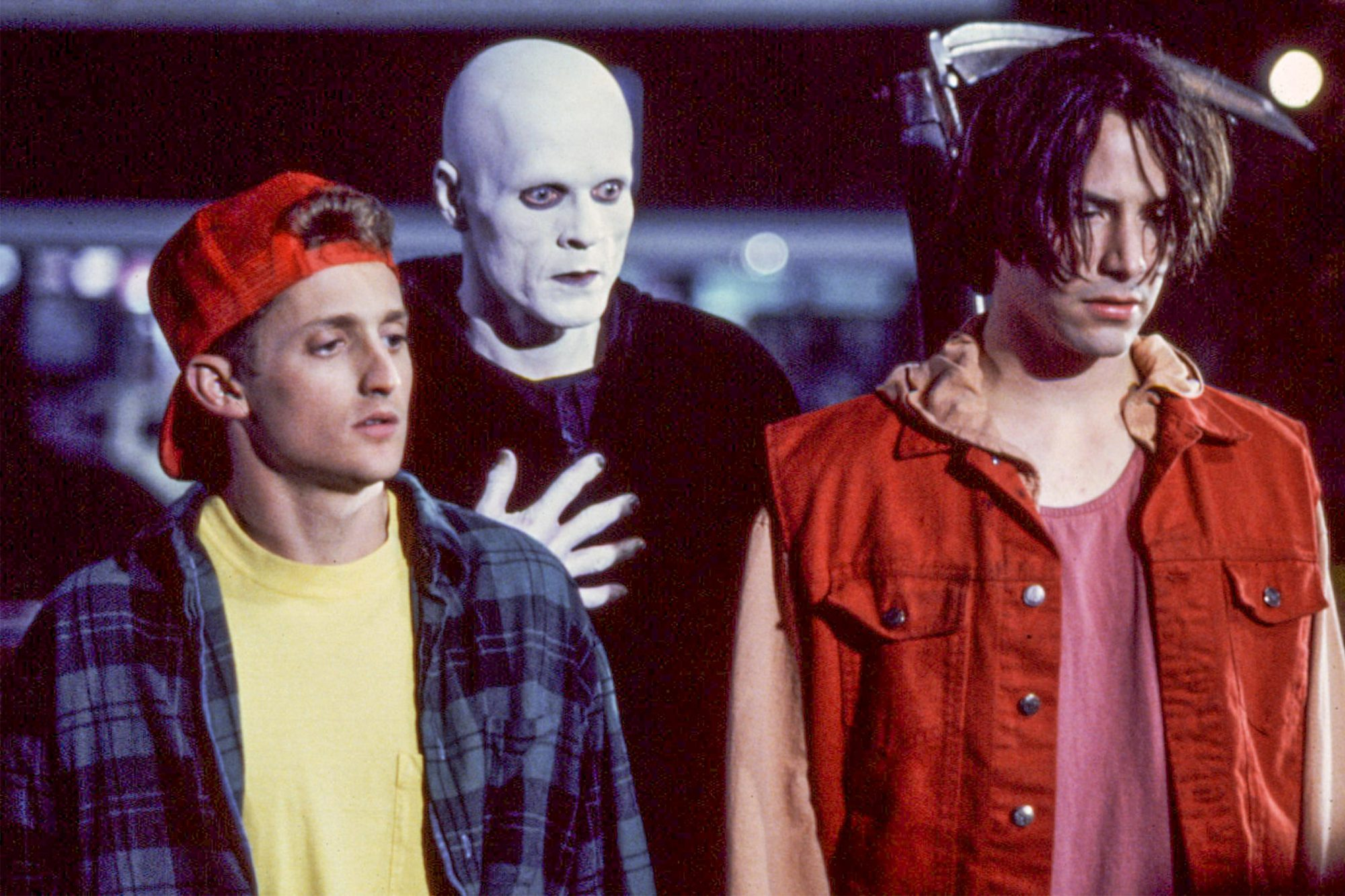 BILL AND TED'S BOGUS JOURNEY, Alex Winter, William Sadler, Keanu Reeves, 1991