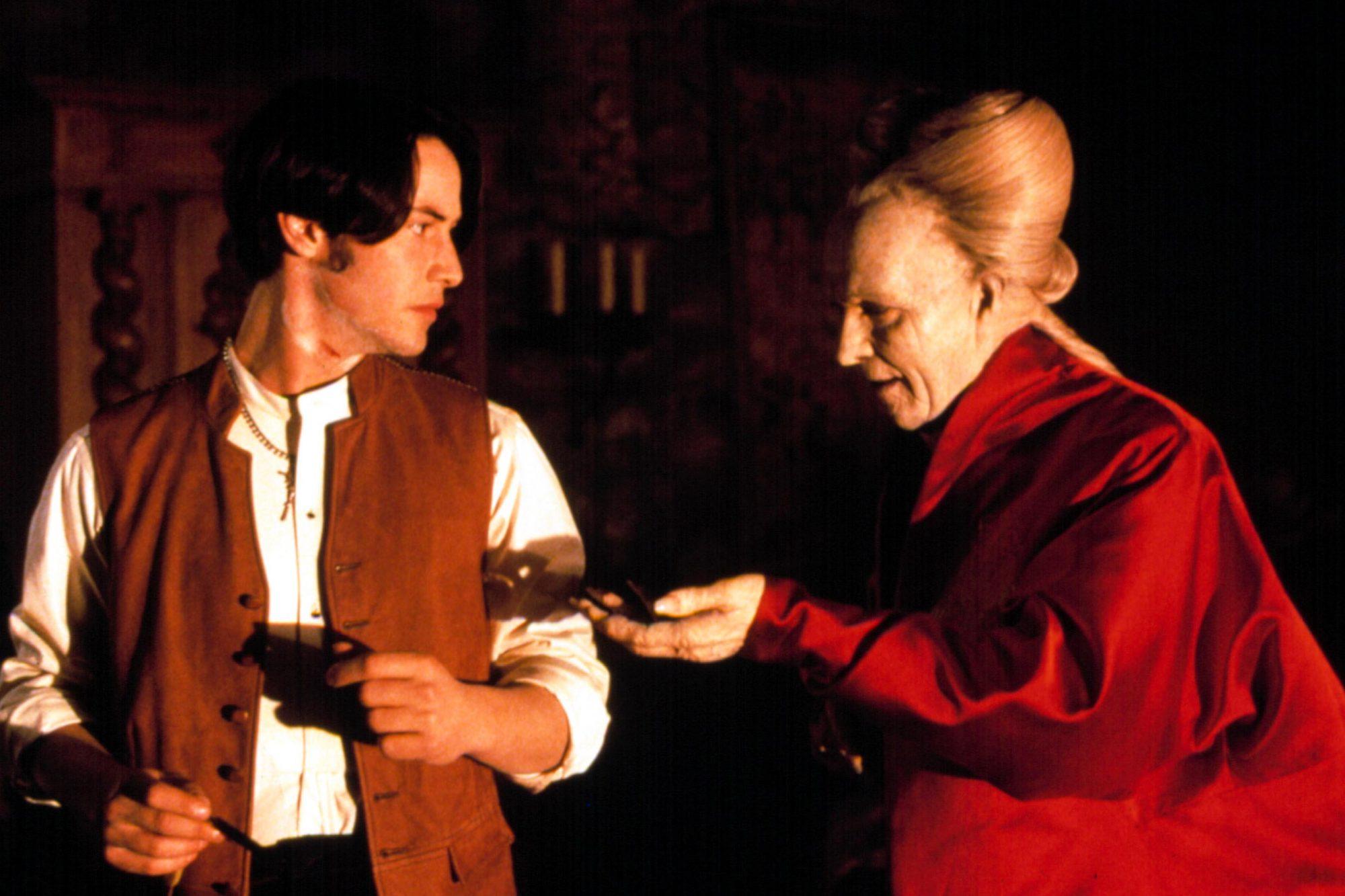 BRAM STOKER'S DRACULA, Keanu Reeves, Gary Oldman, 1992