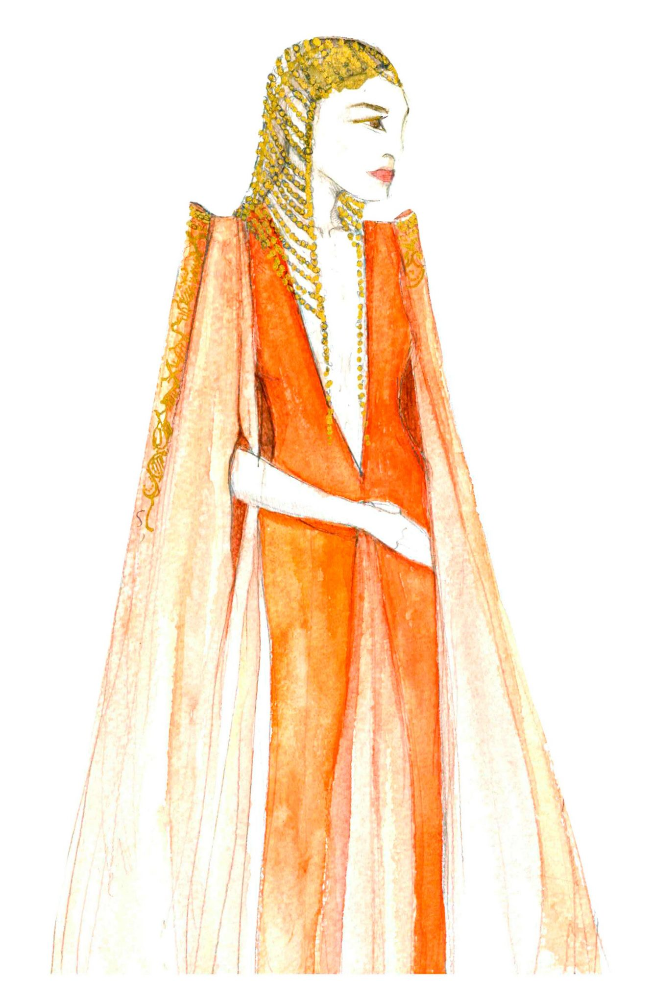 Game of ThronesEllaria Sand Costume Sketch