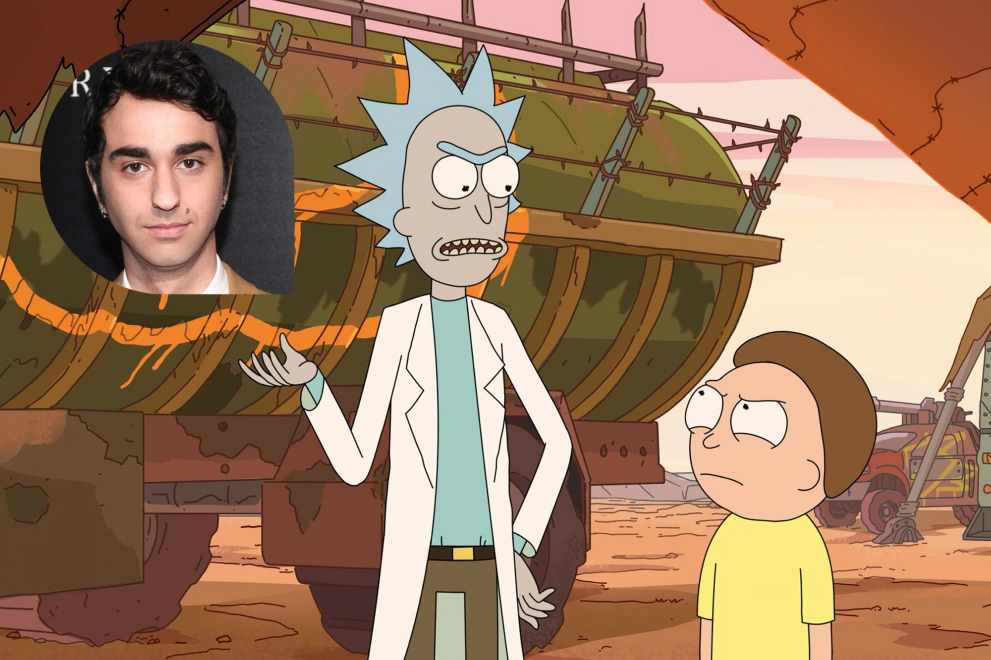 Alex Wolff | Rick and Morty