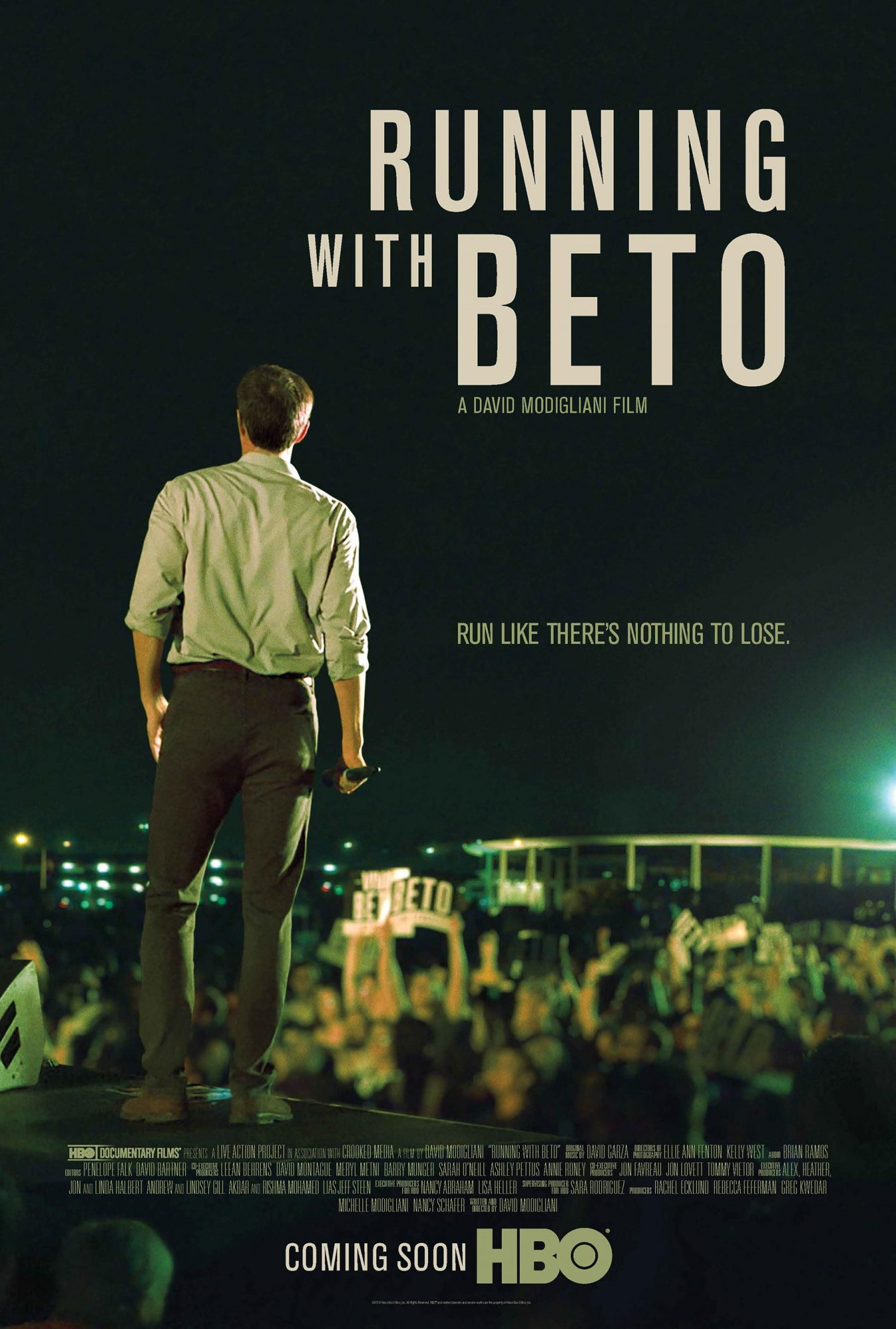 Running With Beto posterCourtesy of HBO