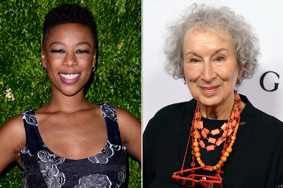 Samira Wiley and Margaret Atwood split