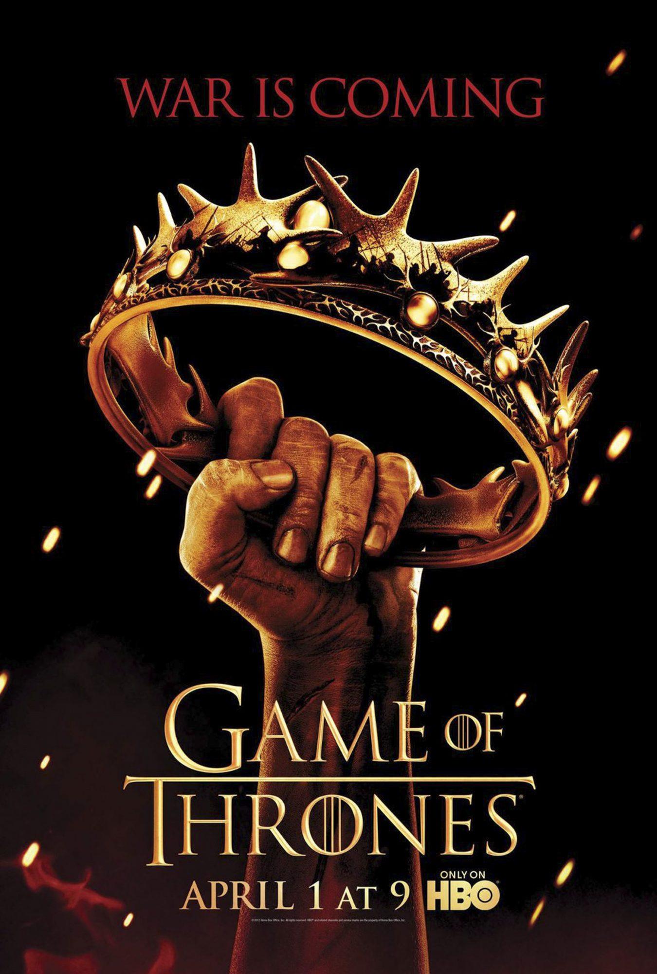 Game of Thrones poster/key artSeason 2CR: HBO