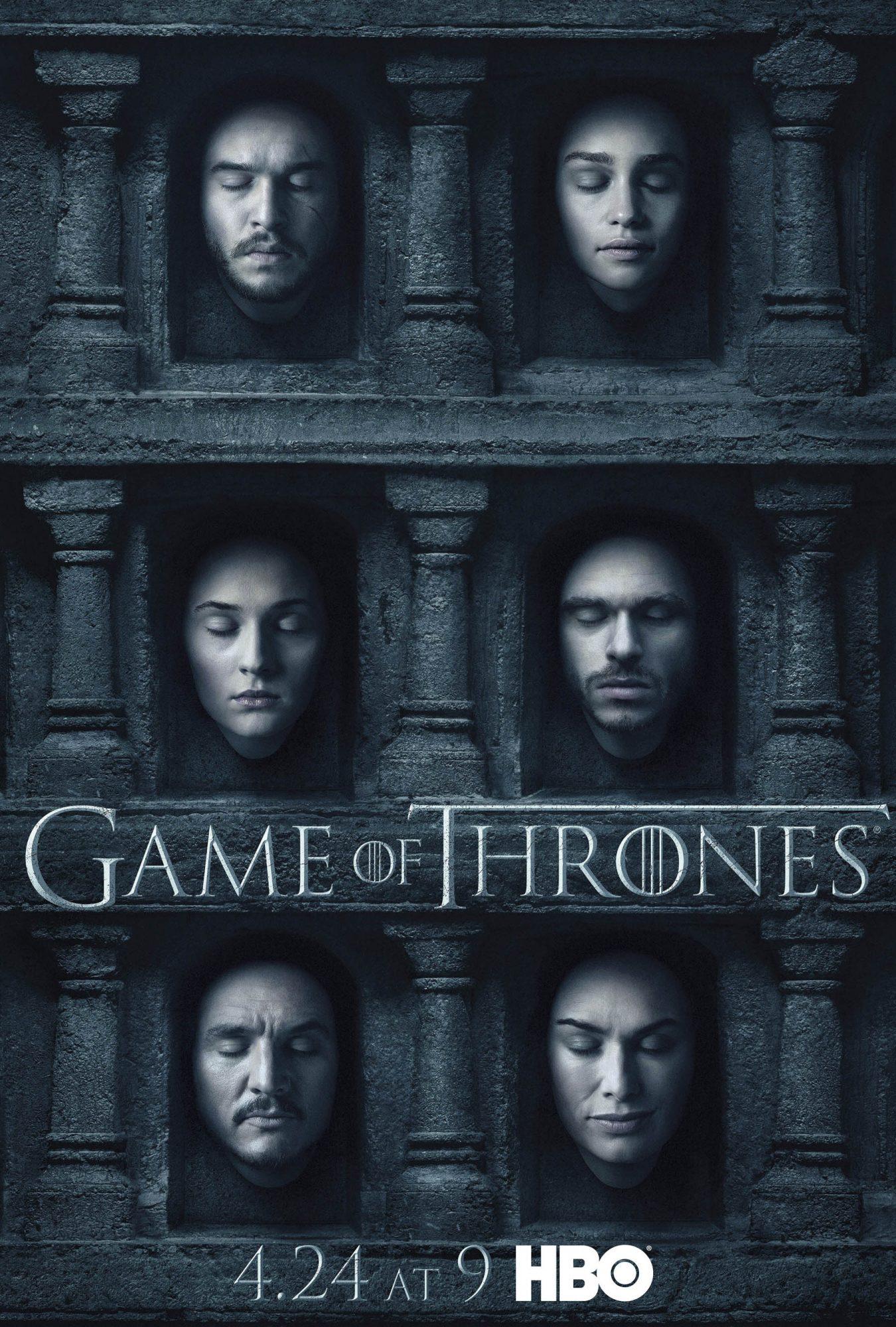 Game of Thrones poster/key artSeason 6CR: HBO