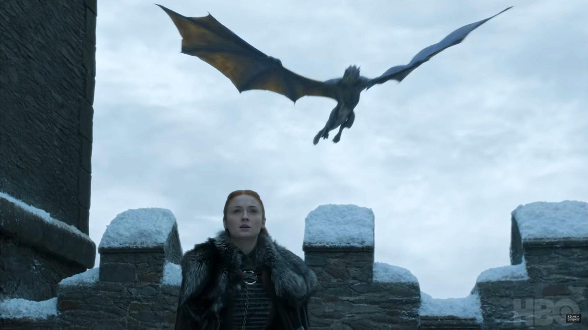 Dragons in Winterfell