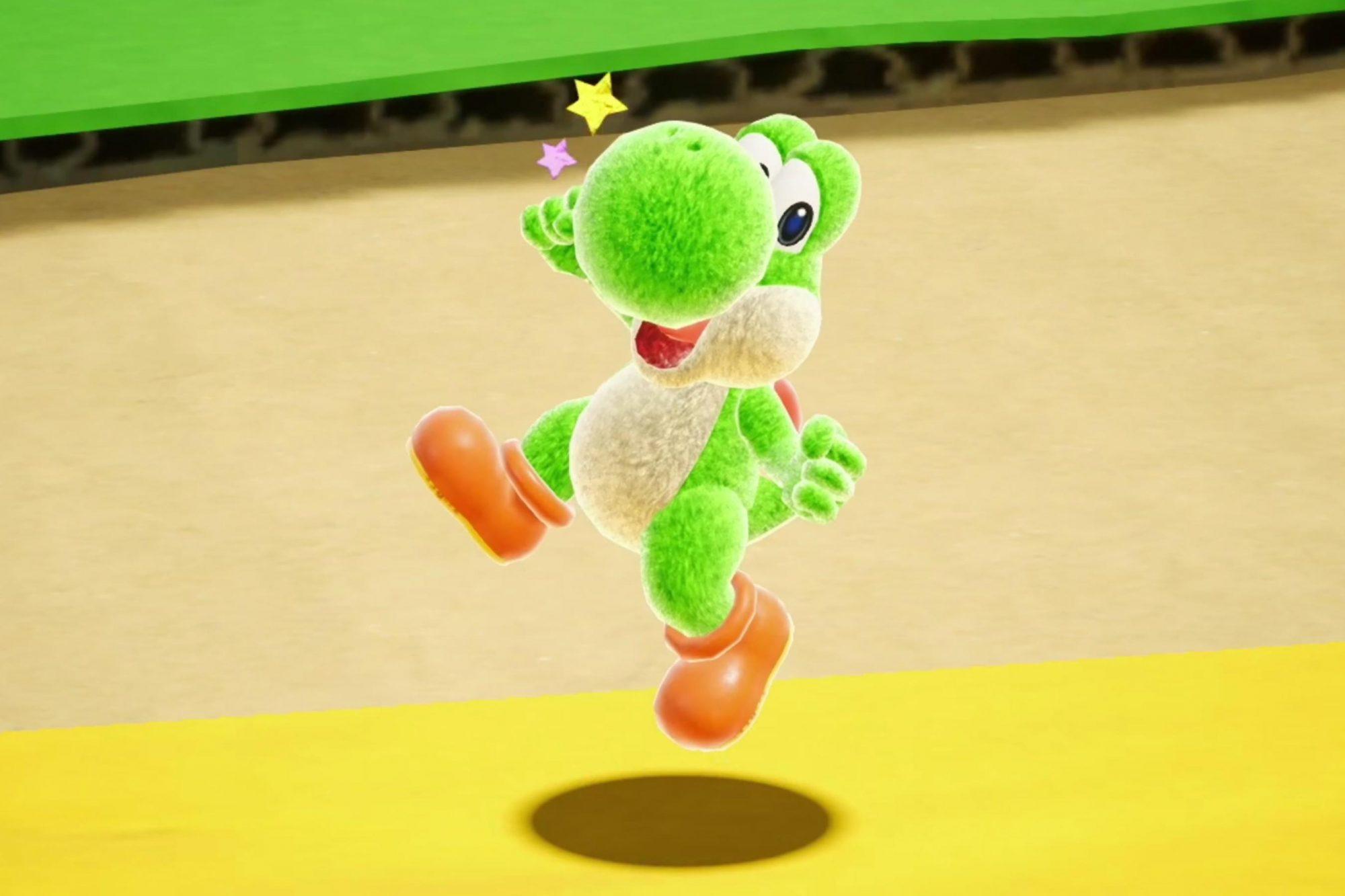 Yoshi video game (2018) CR: Nintendo