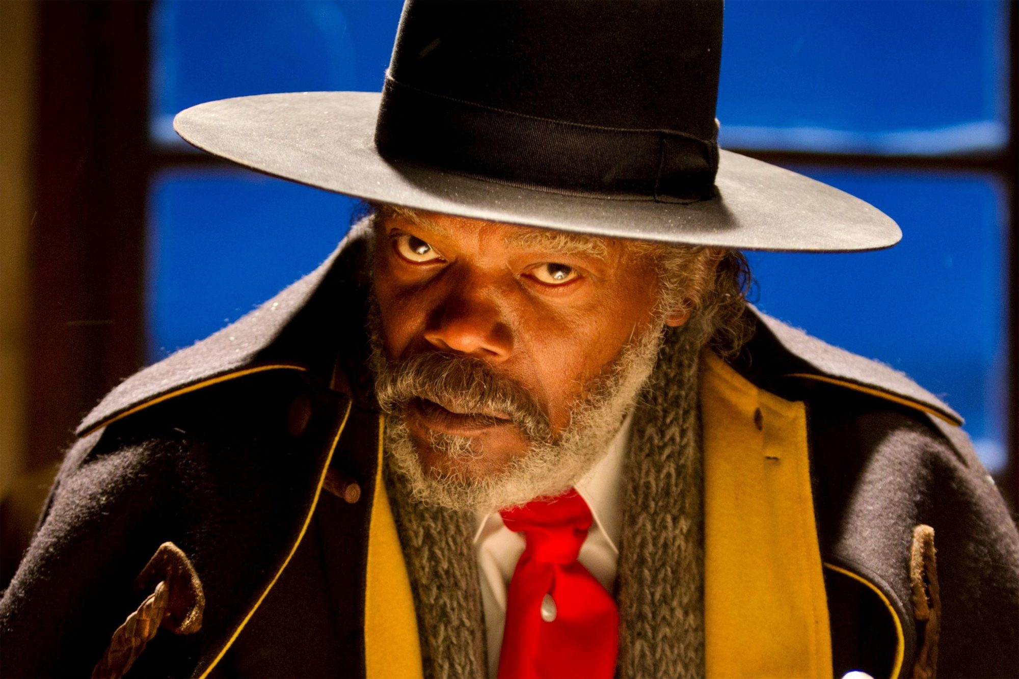THE HATEFUL EIGHT (2015) SAMUEL L. JACKSON CR: Andrew Cooper/TWC