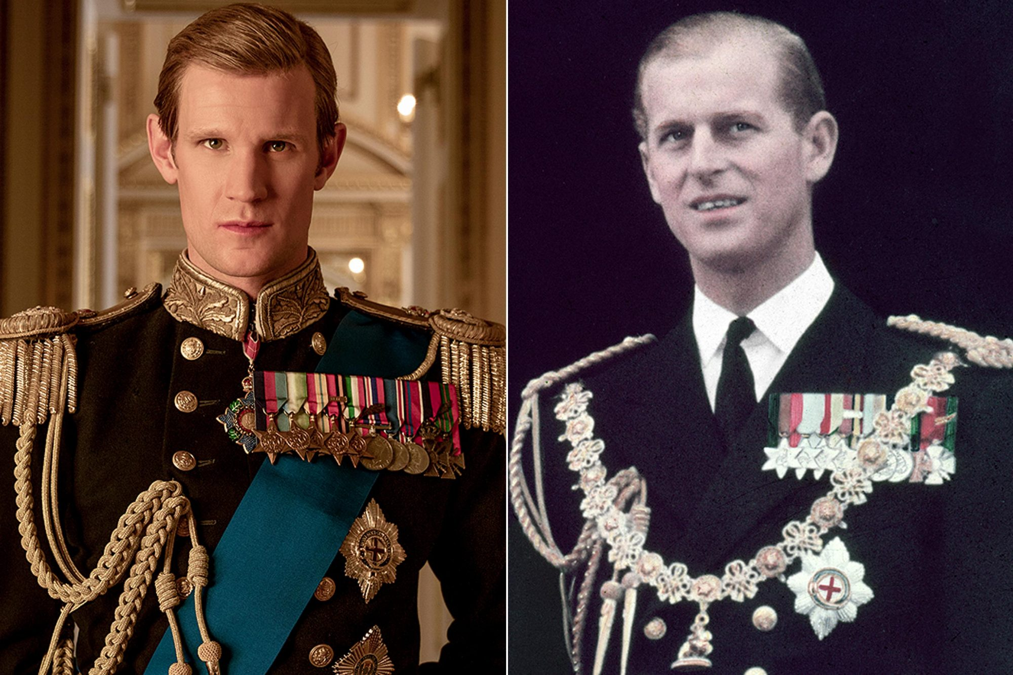Matt-Smith-and-young-Prince-Philip