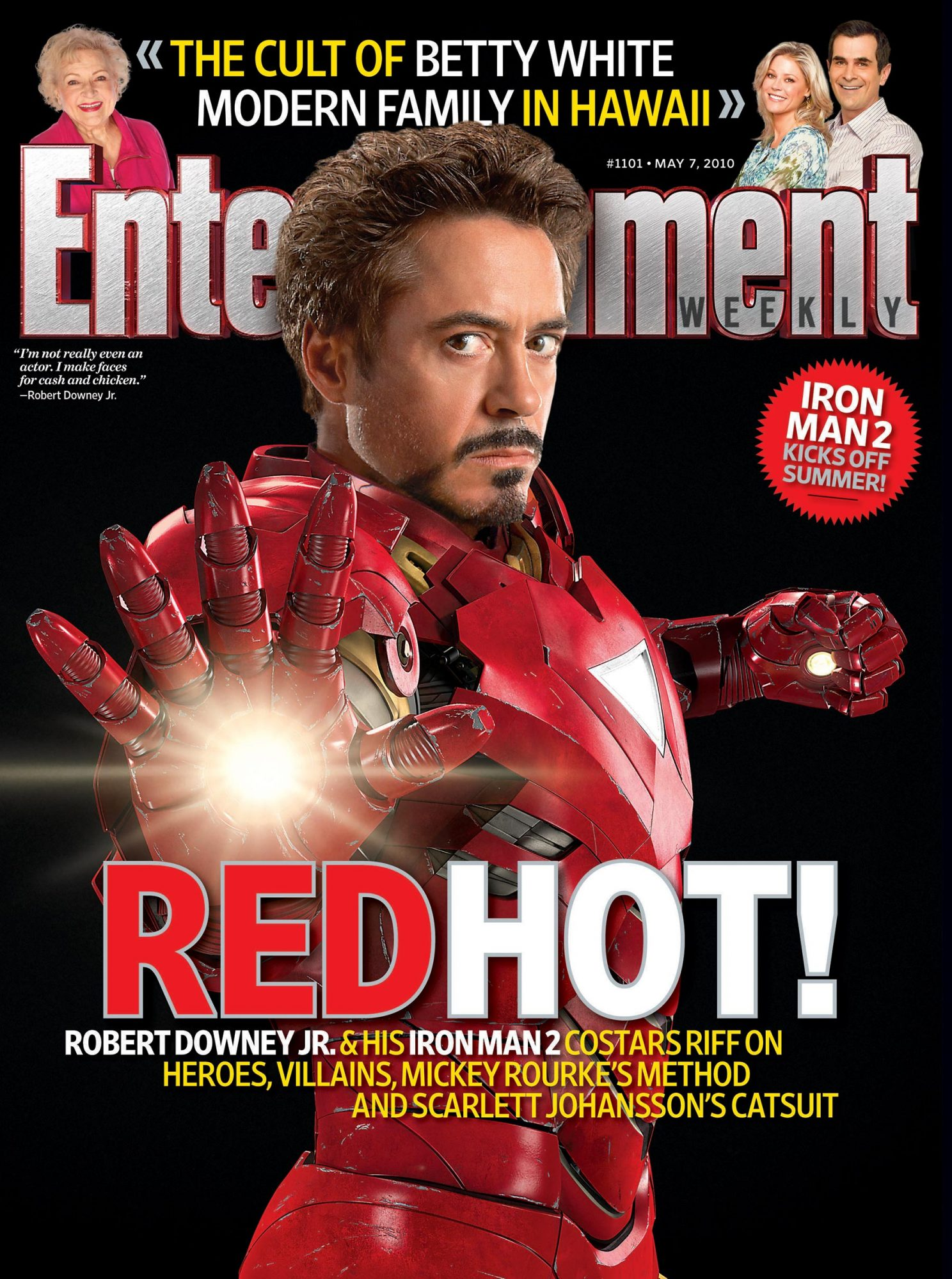 Entertainment WeeklyIssue 1101Iron Man 2