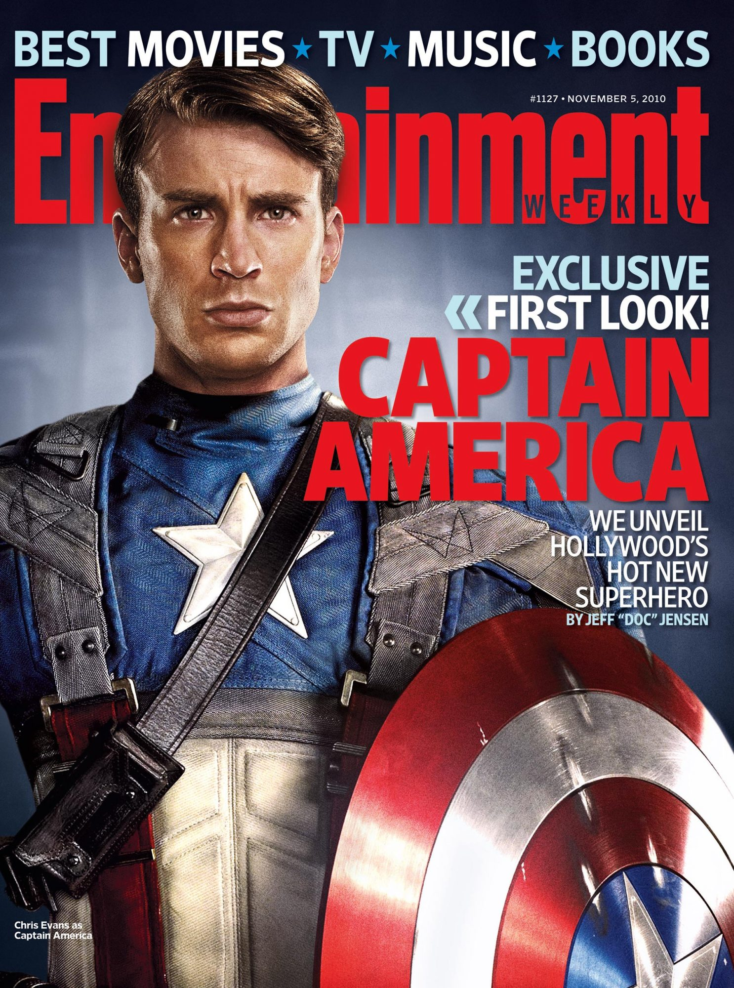 Entertainment Weekly Issue 1127Nov 5, 2010Captain America