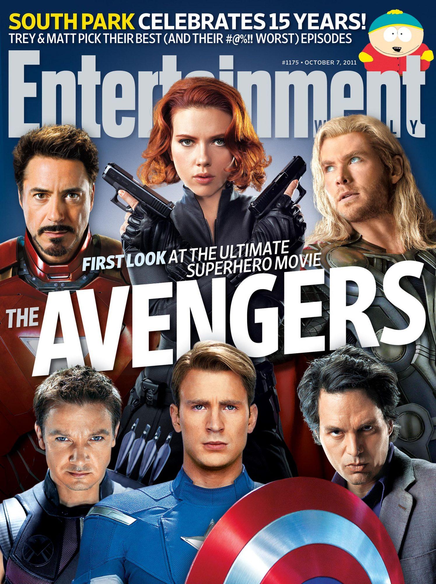 Entertainment Weeklyissue 1175Avengers