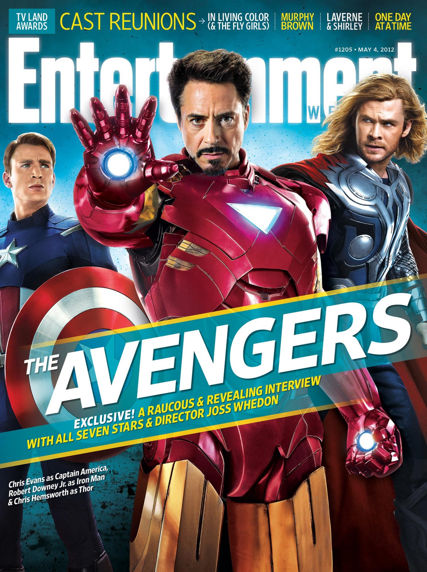 Entertainment WeeklyMay 4, 2012 - The AvengersIssue #1205