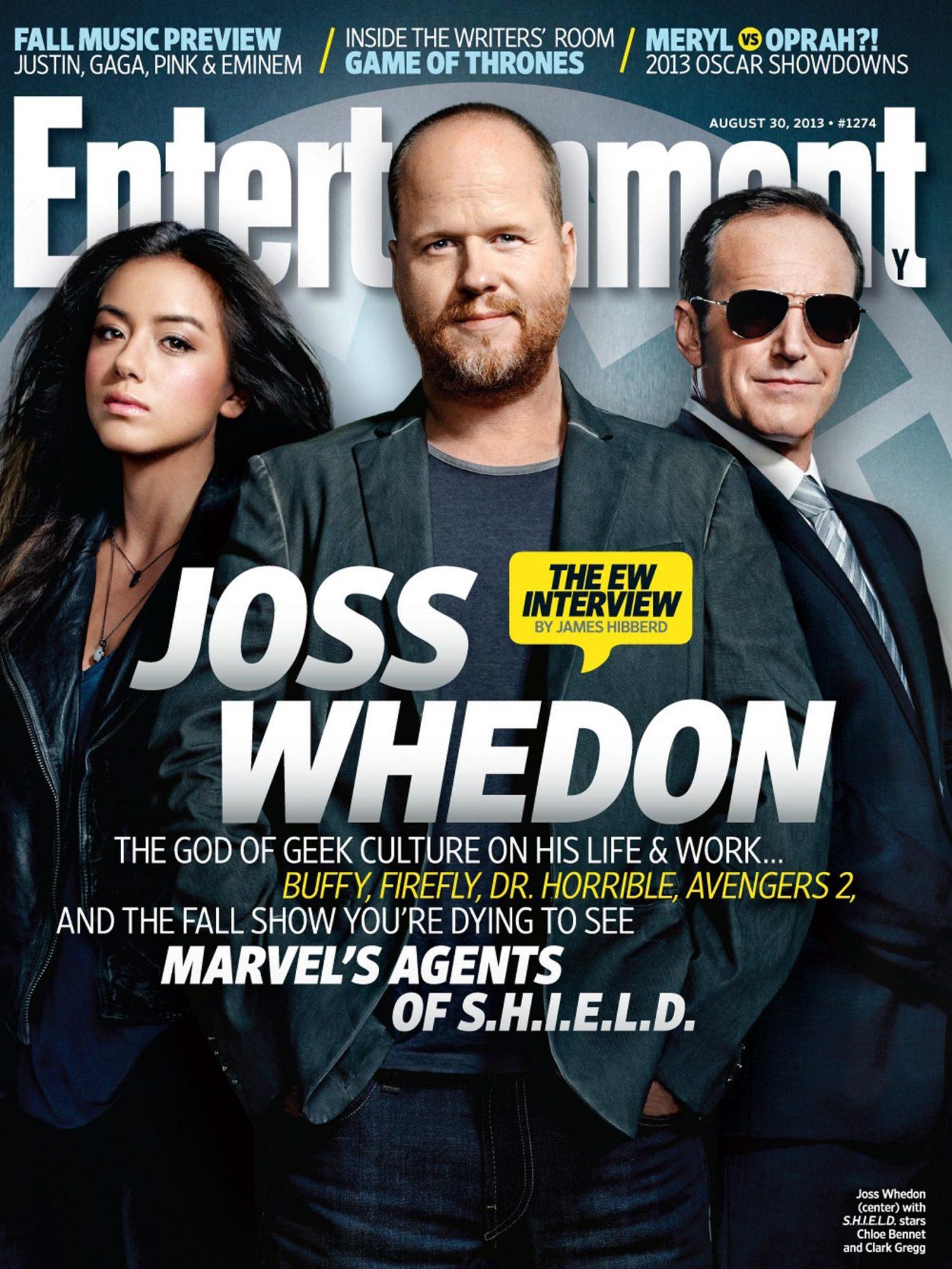 Entertainment WeeklyJoss WhedonAugust 30, 2013# 1274